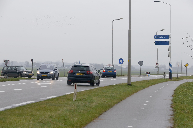 Kruisingen N248 moeten veiliger, dus stuurt gemeenteraad Hollands Kroon college naar de provincie