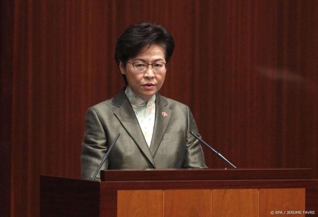 Leider Hongkong: beëindigen politieke chaos is prioriteit