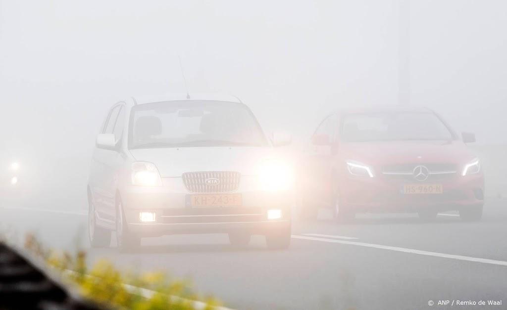 Waarschuwing voor mist in noordoosten en midden van het land