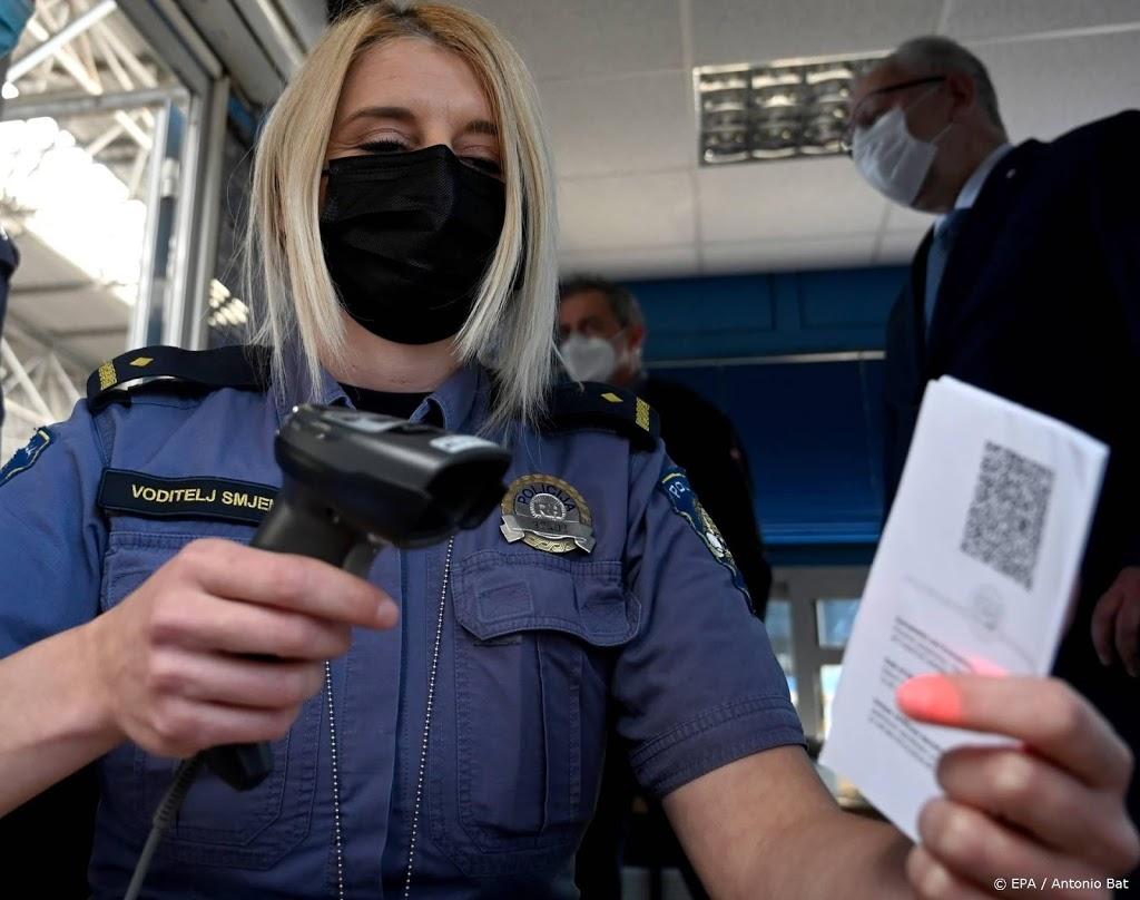 Douaniers in hele EU weten raad met coronareiscertificaat