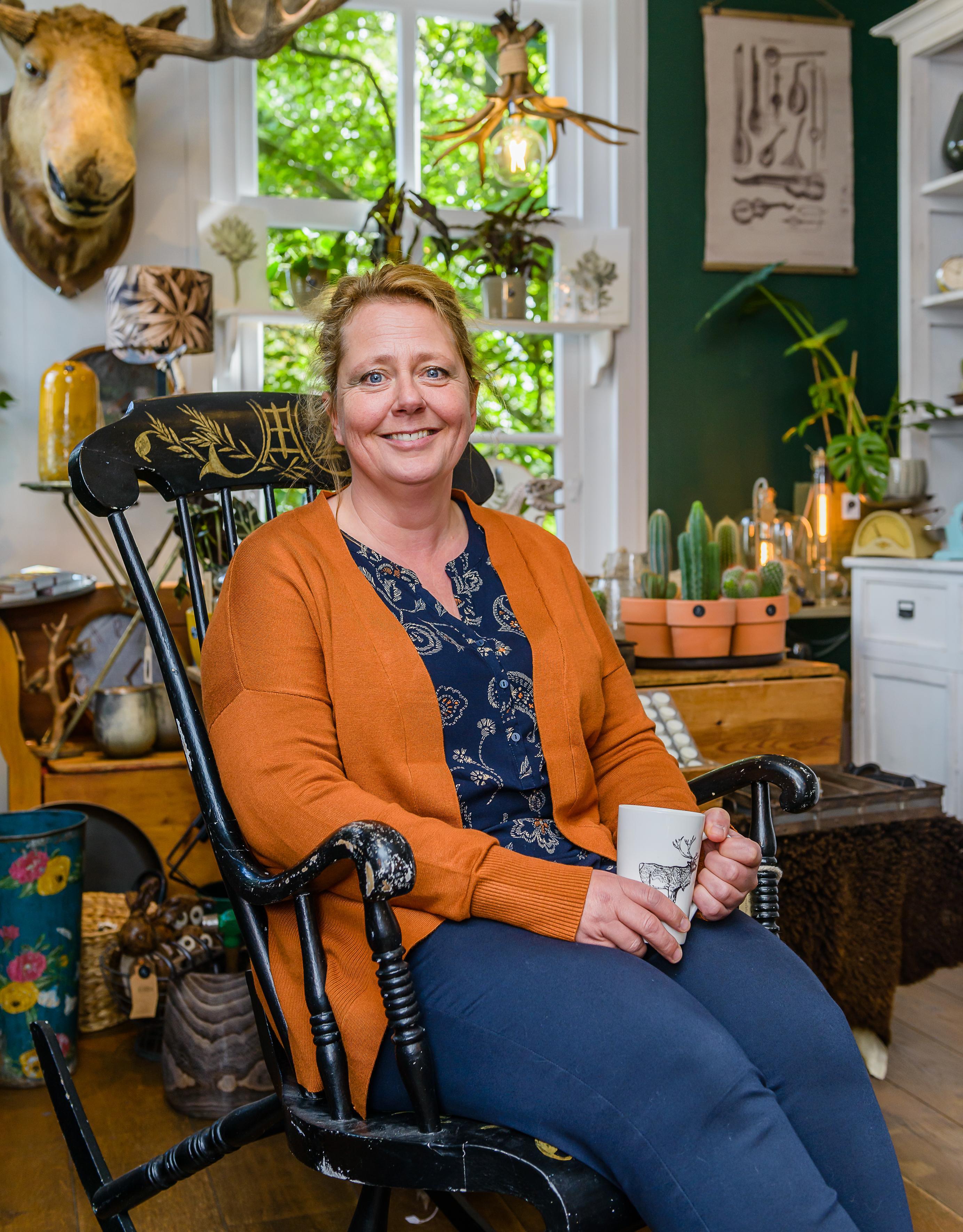 Josefine Gigengack-Kan is een bezige bij in Krommenie