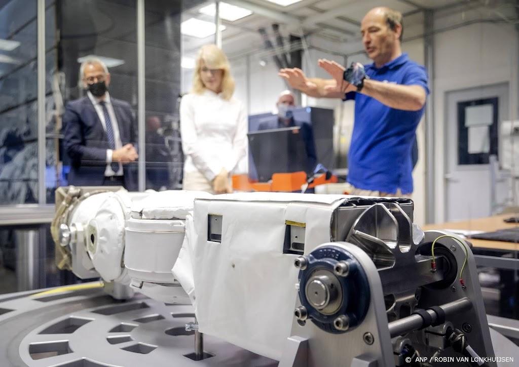 Nederlandse robotarm komt aan bij ruimtestation ISS