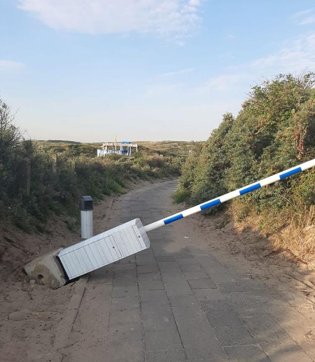Parkeermedewerker Marcel spoort Castricumse strandvandalen zelf op: 'Hun ouders schrokken zich kapot toen ze de camerabeelden zagen'