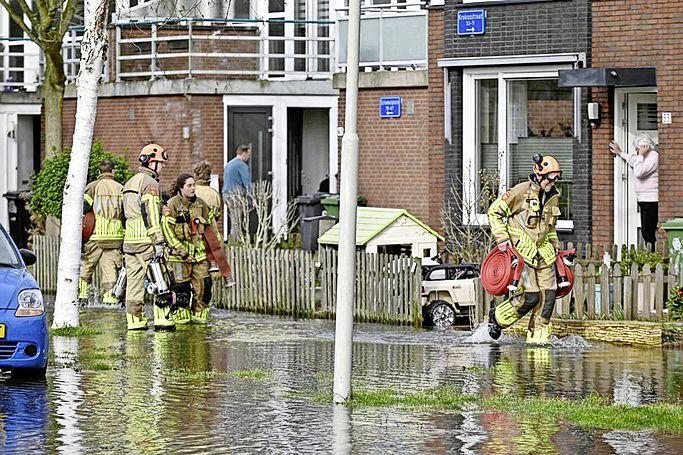 Sinkhole in Wormerveer. Angela (41) hielp vader met twee kinderen uit het water: 'Echt heel bizar. Het leek wel een film'