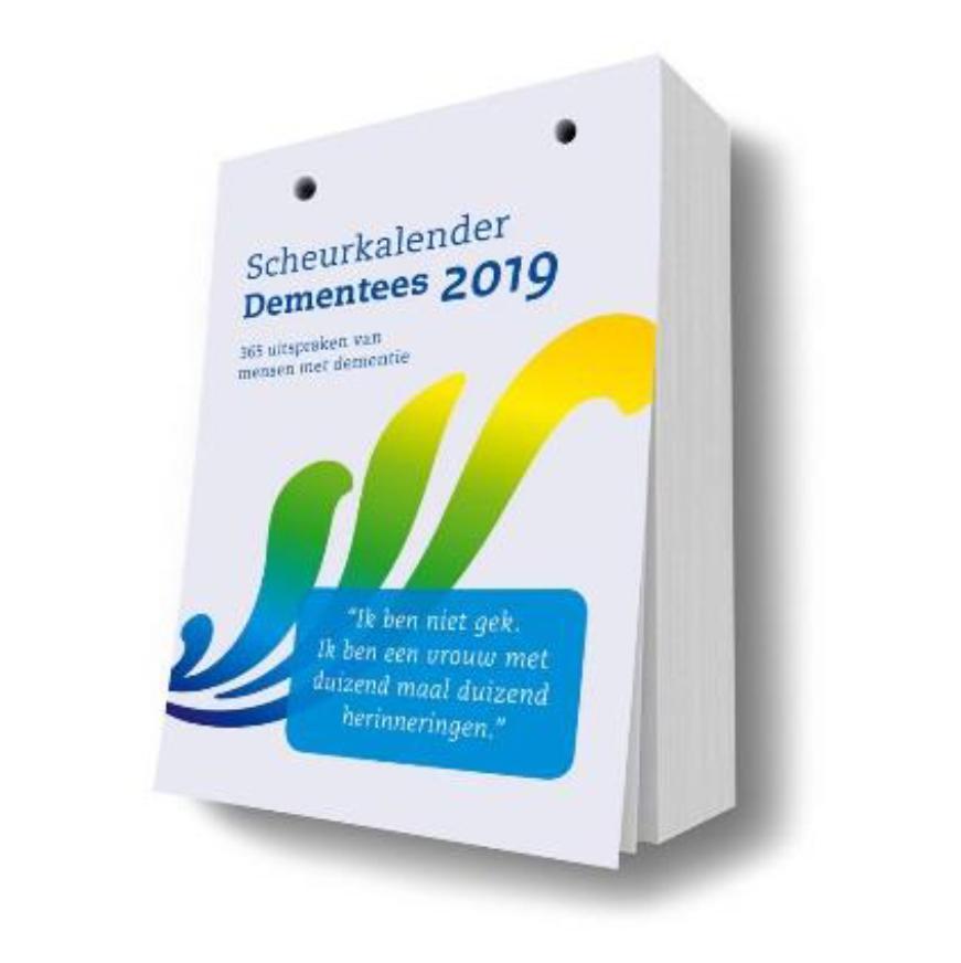 Nieuw: 'Scheurkalender Dementees'