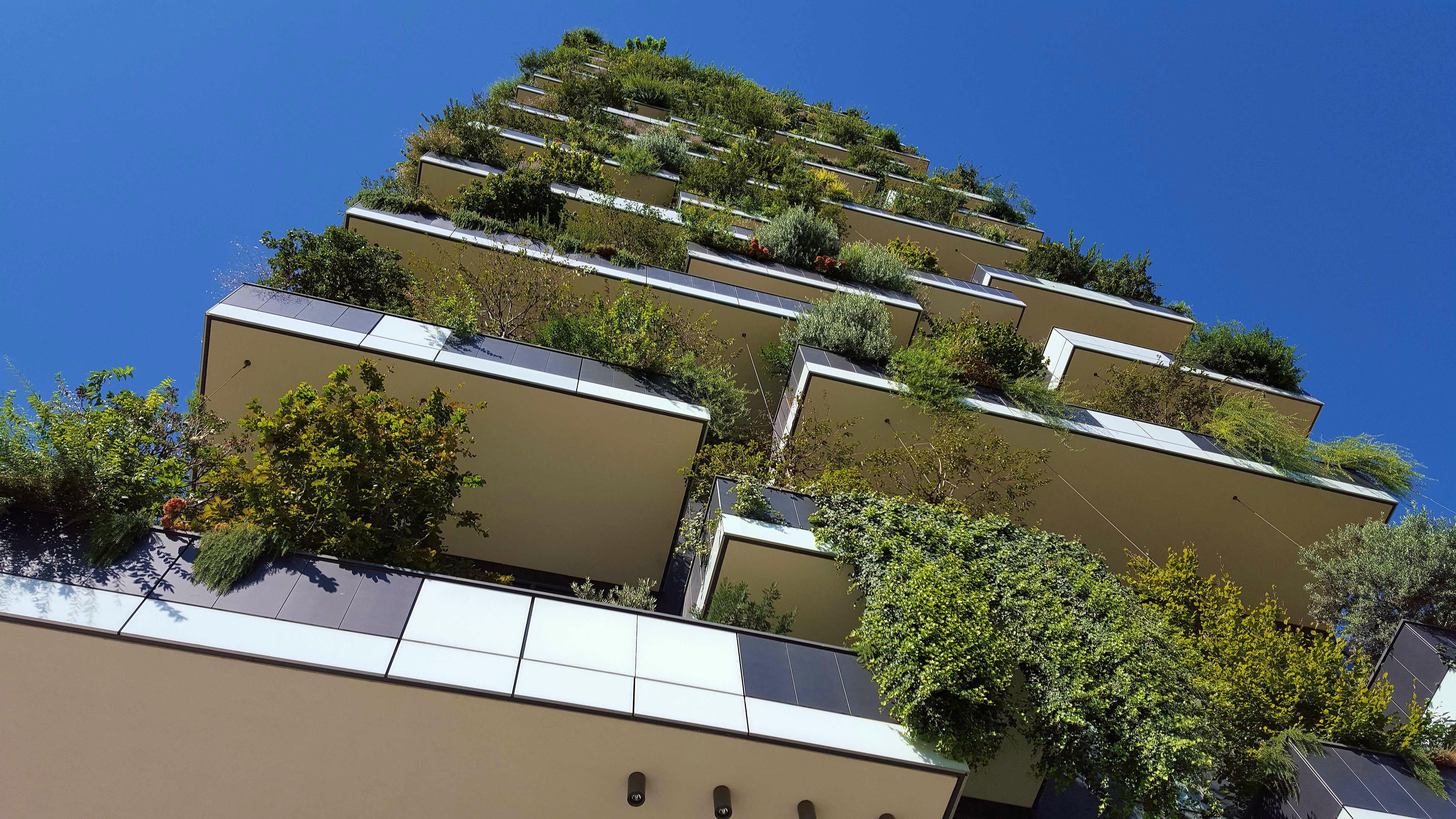 Met groene woontorens kunnen stad en natuur goed samengaan