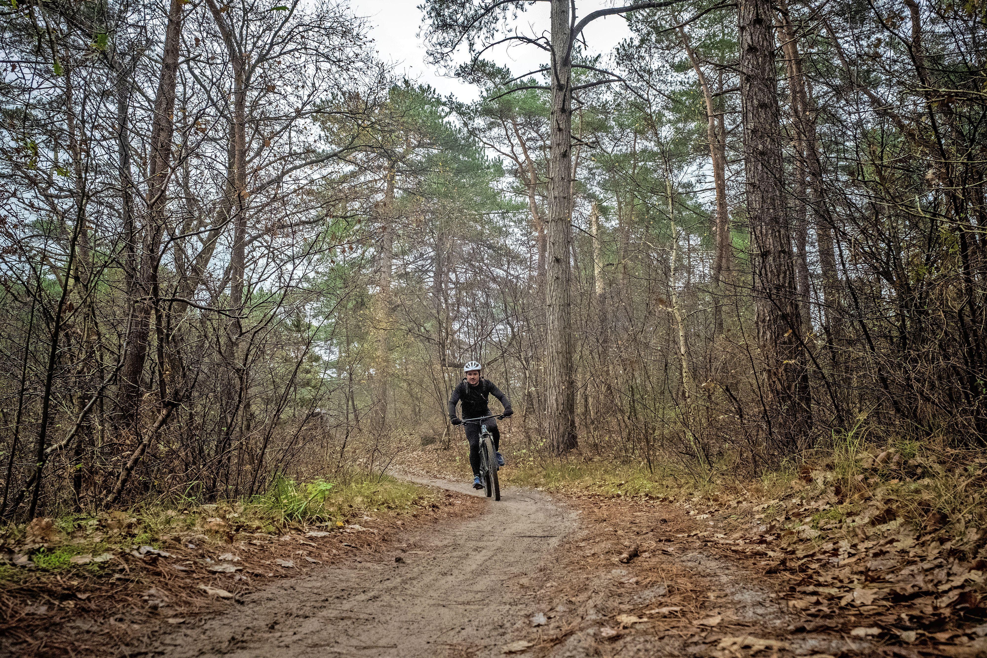 Mountainbikeparkoers van Schoorl populairste route van Nederland in 2020, volgens Strava