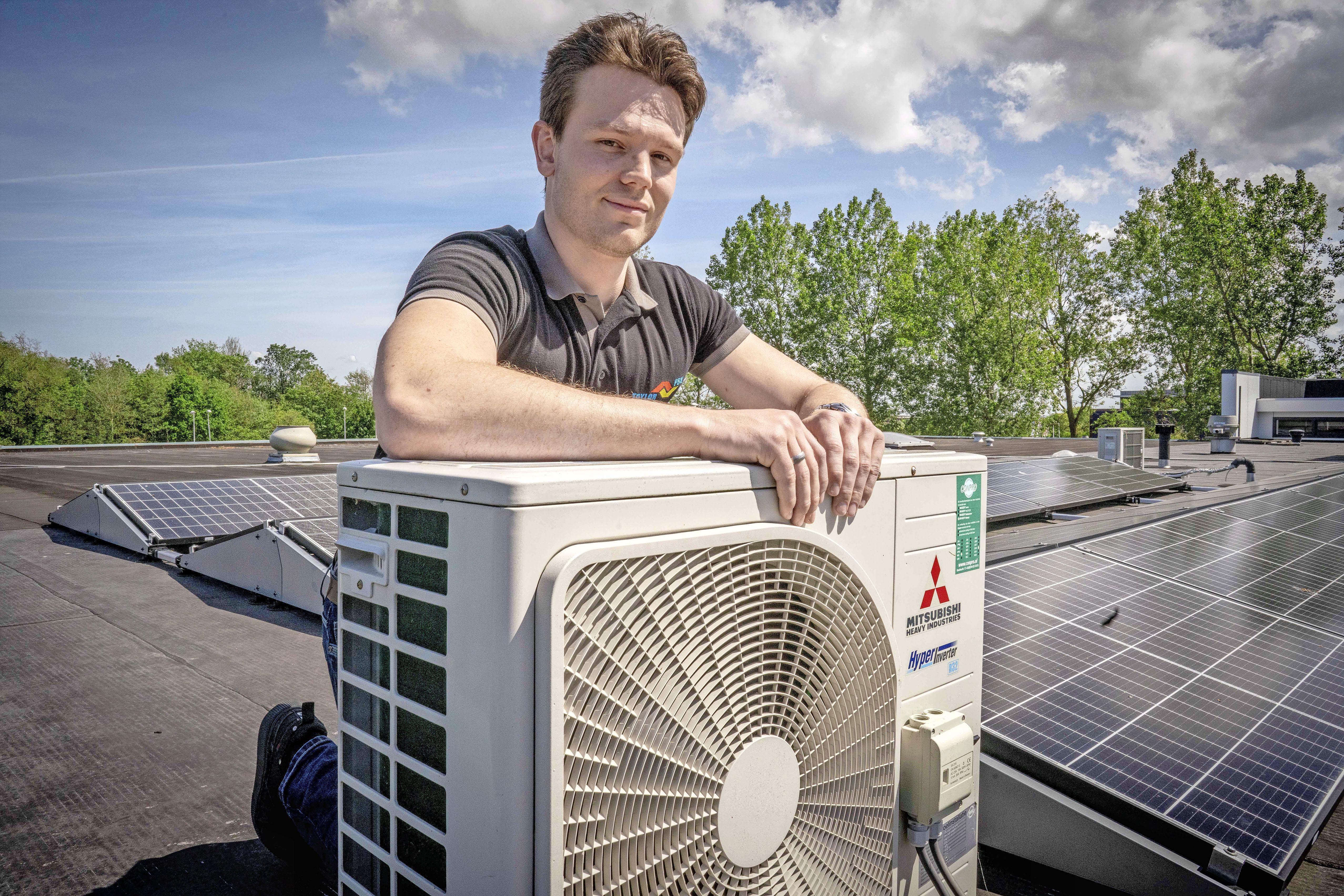 Installateurs maken zich op voor topdrukte in het aircoseizoen. 'In de zomer kan het wel een maand duren voordat ik bij je langskom'