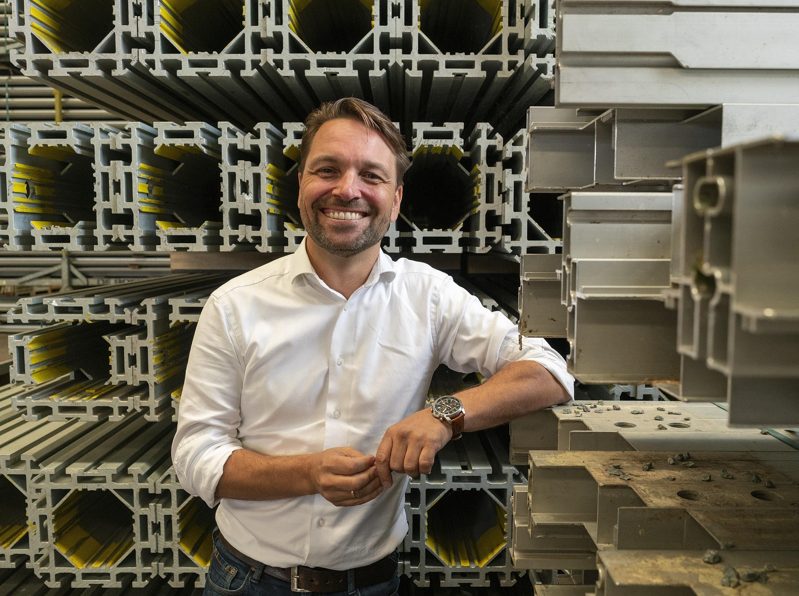 Alkmaars tintje aan eerste centrum voor coronavaccinatie in Europa: bouwer Losberger De Boer hoopt op meer orders