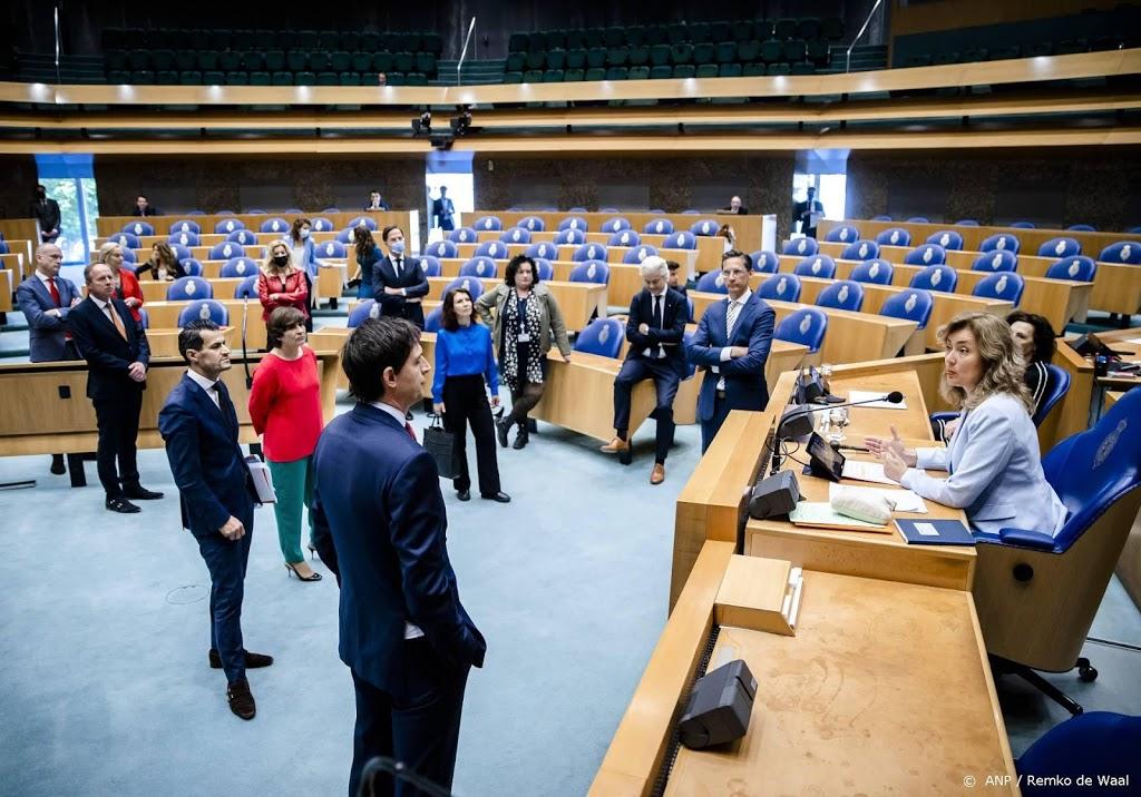 Tweede Kamer telt recordaantal fracties sinds splitsing FVD