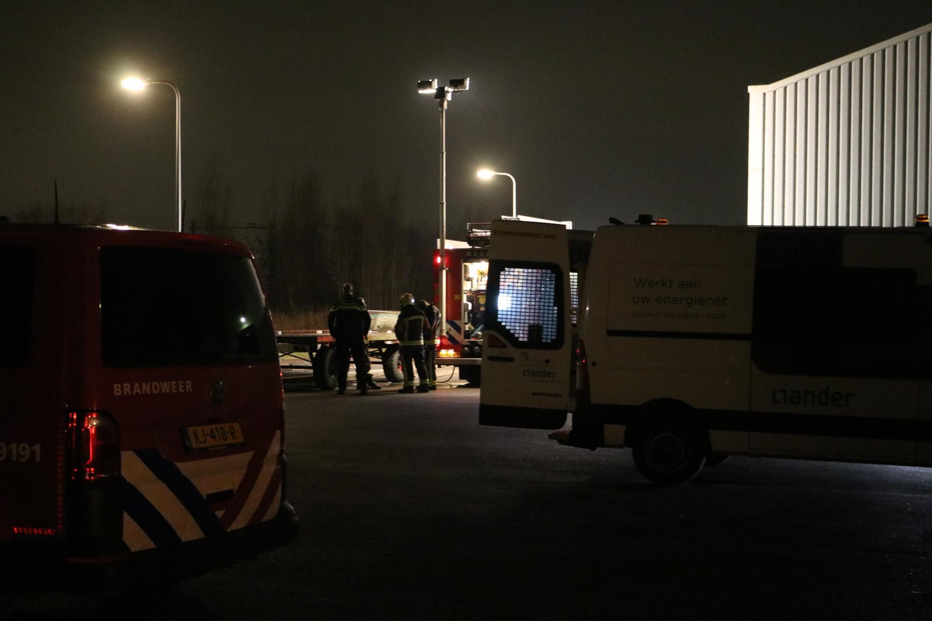 Leidsevaart in Noordwijkerhout afgesloten door gaslek