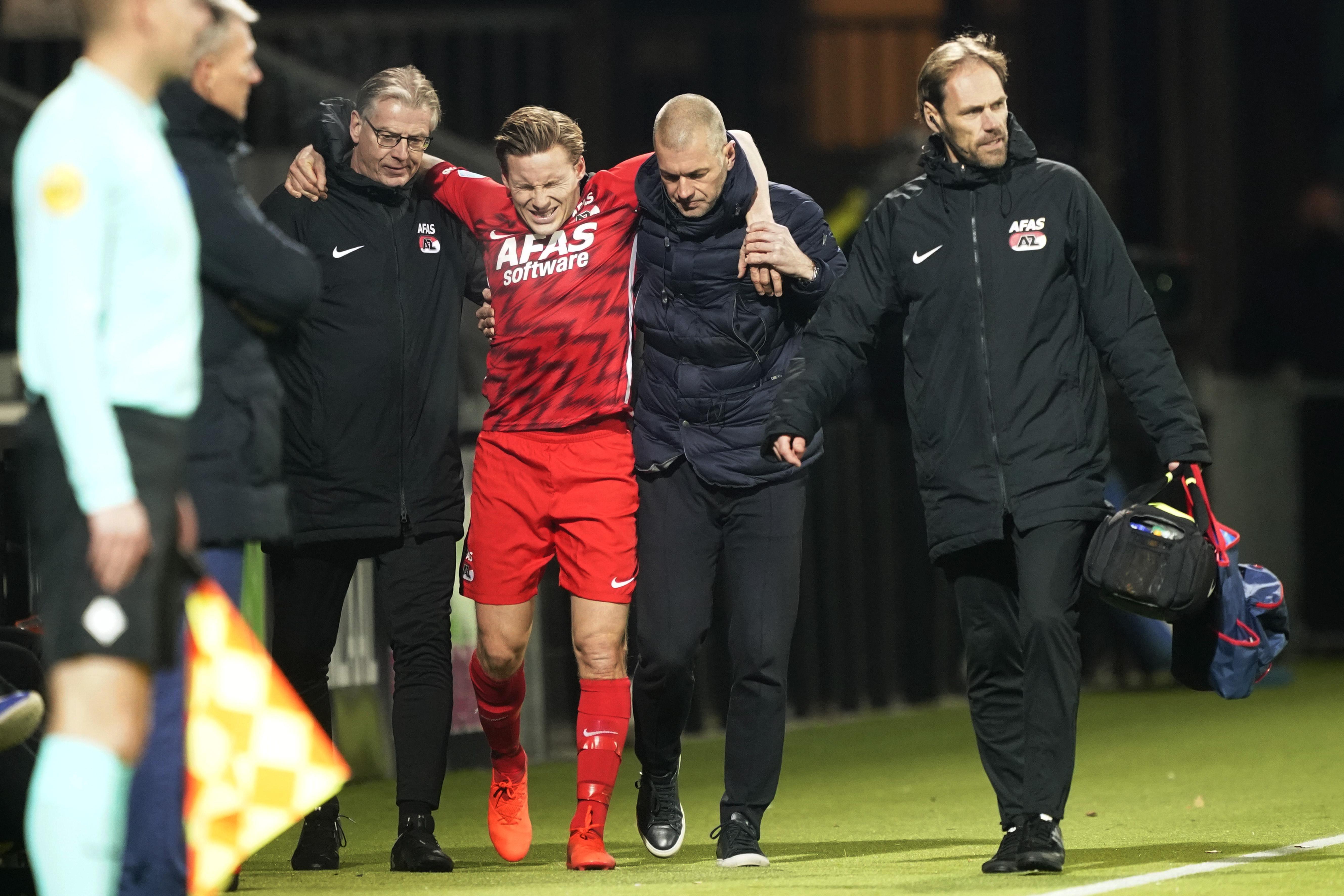 Tegenvaller voor AZ: Jonas Svensson voorlopig uitgeschakeld, Noor mist duel met Napoli