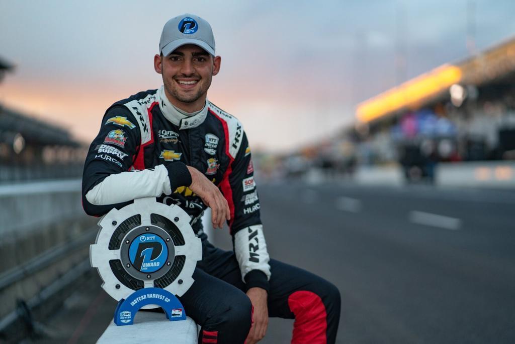 Coureur Rinus van Kalmthout pakt eerste pole in IndyCar