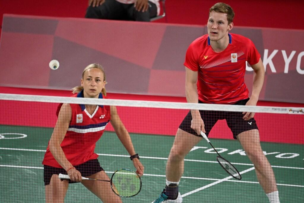 Badmintonduo Piek/Tabeling sluit gemengd dubbel af met zege