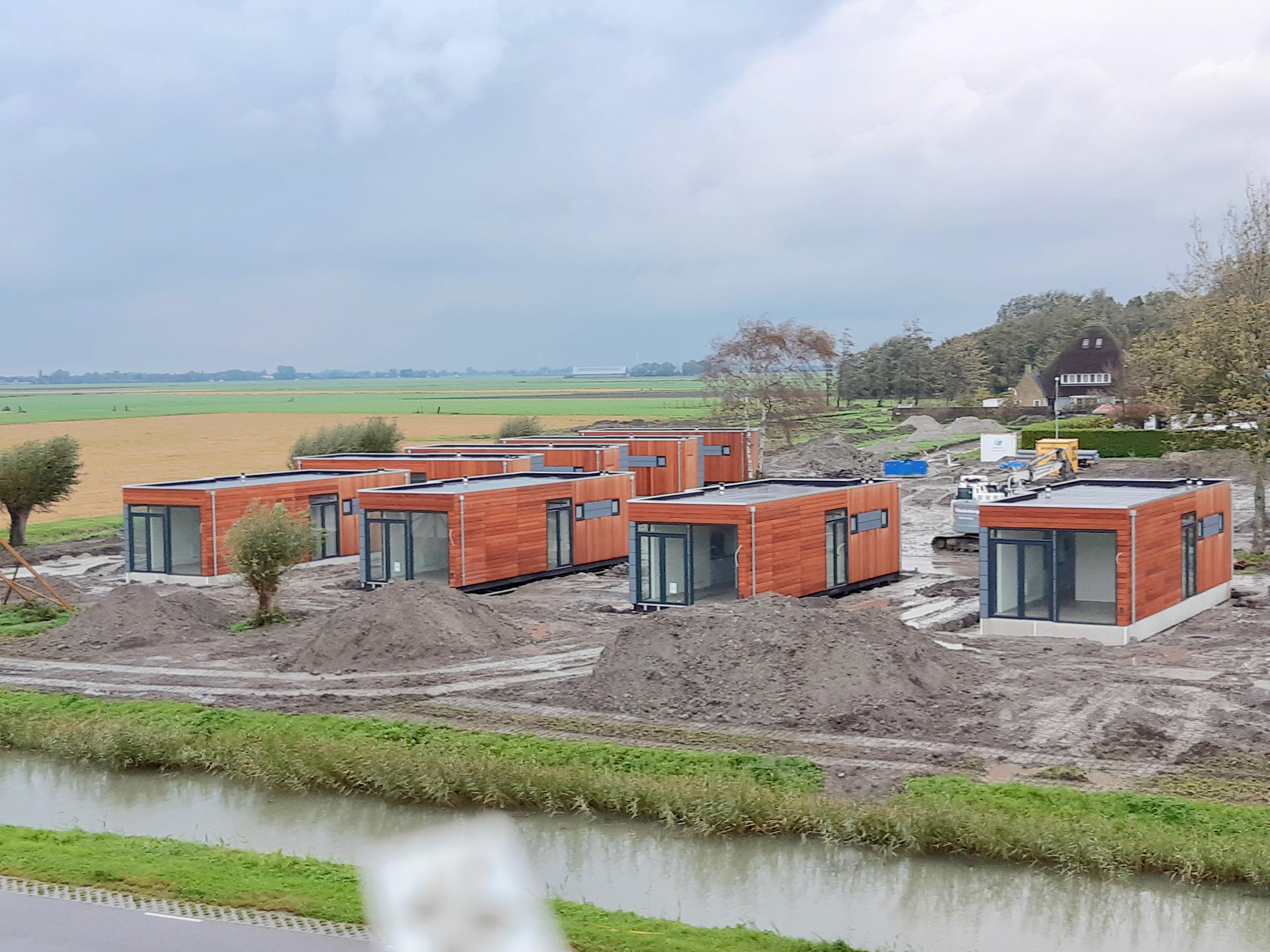 Rechtszaak dreigt over nieuw vakantiepark van Roompot in Wijdenes, bewoners willen dat plaatsen vakantiewoningen stopt
