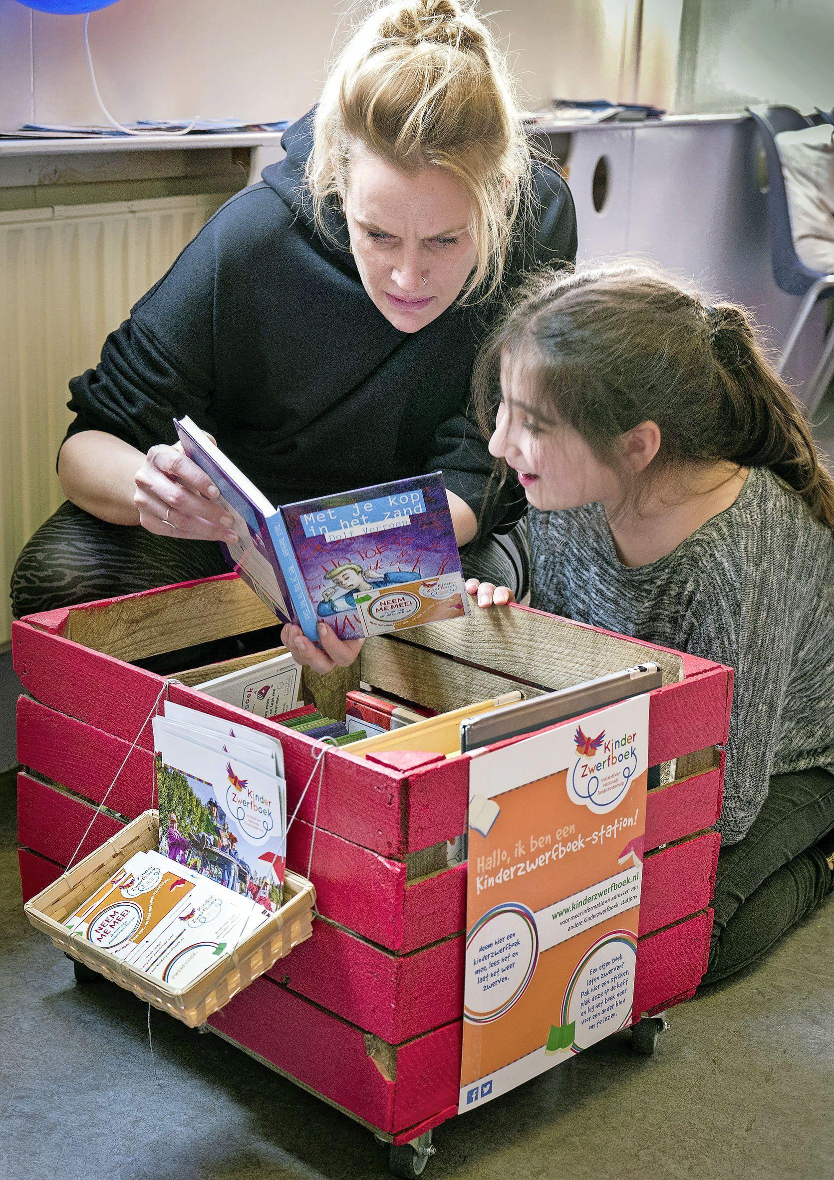 Oproep commissaris van de koning: laat kinderboek zwerven