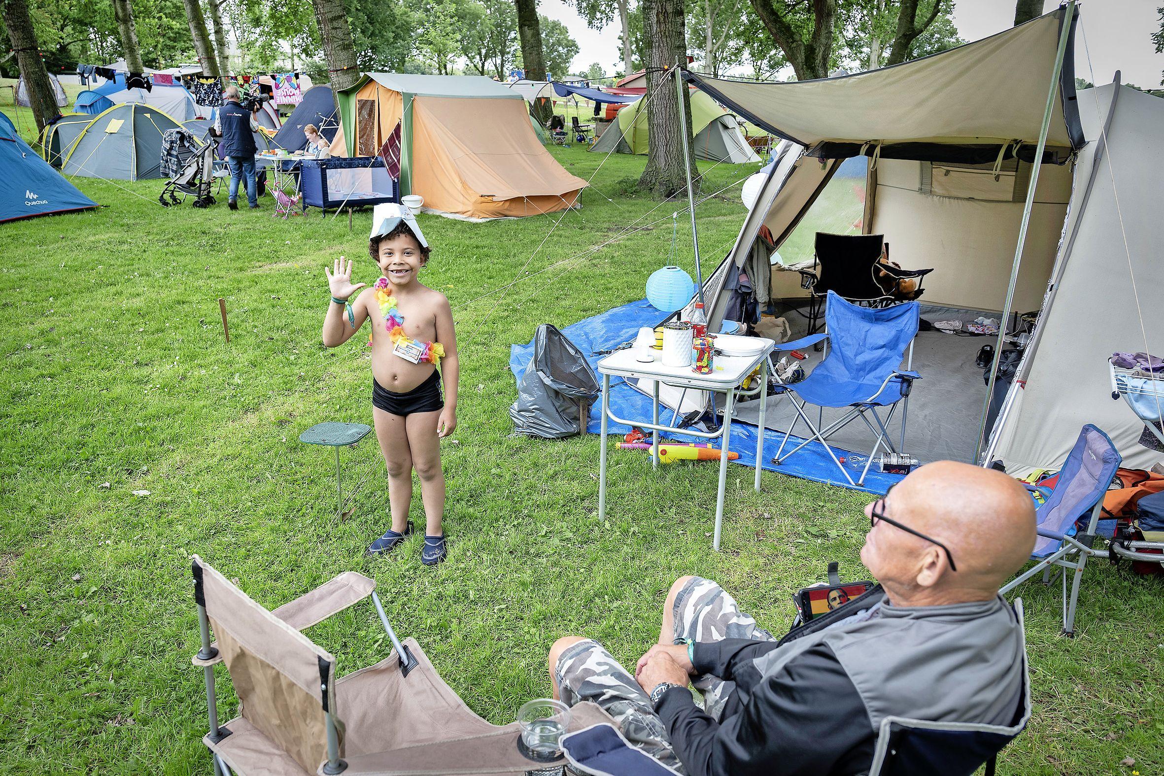 Verlossend woord voor Buurtcamping Molenplaspark: kampeerweekend mag doorgaan. 'Het was best spannend'