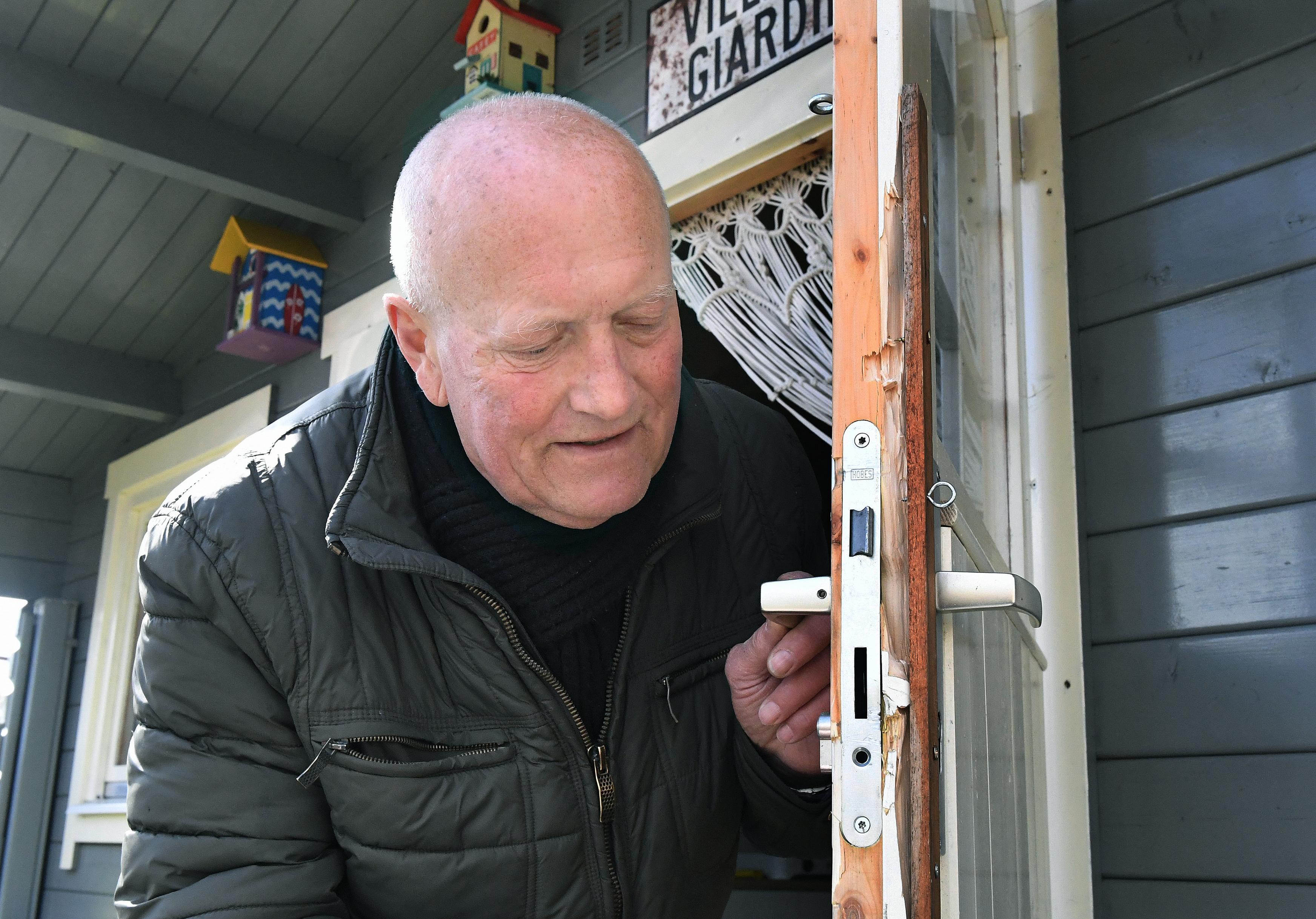 Inbrekers stelen, eten, drinken en chillen op volkstuinencomplex Texelstroom. ,,Ik voel me hier niet veilig meer'', zegt een slachtoffer
