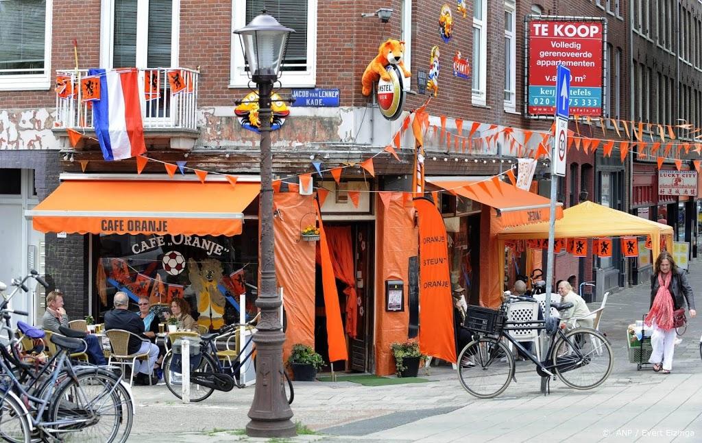 Volle terrassen verwacht als Oranje zondag speelt