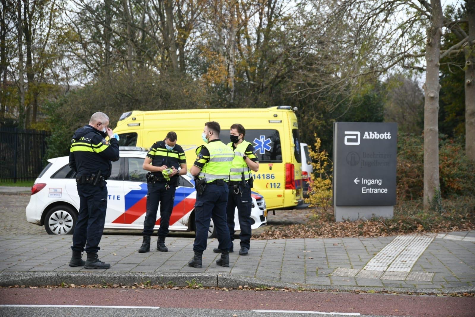 Explosie bij farmaceutisch bedrijf in Weesp