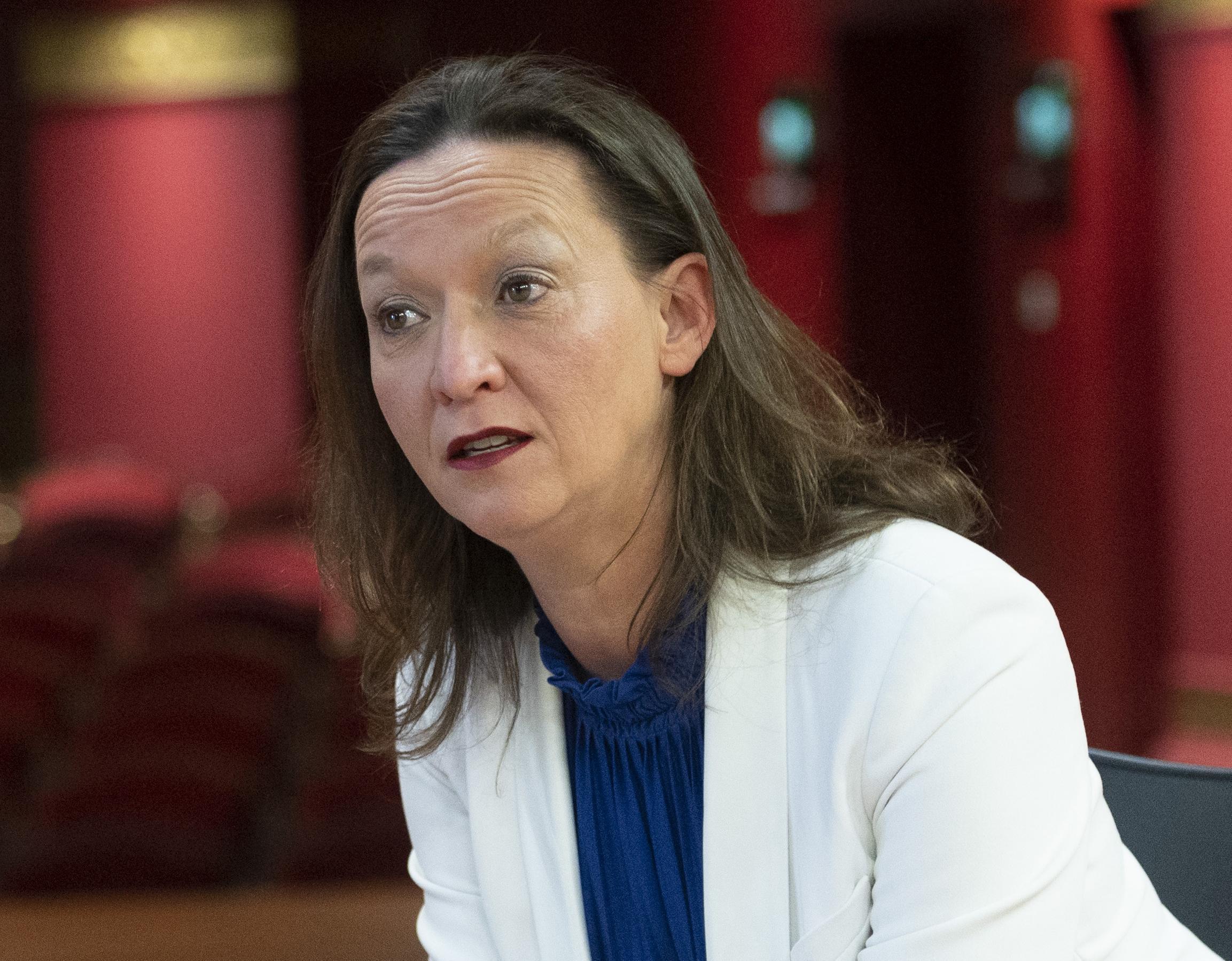 Directeur Jolanda Beyer van Patronaat in Haarlem moet veel medewerkers ontslaan als gevolg van de coronacrisis. 'Er zijn dagen dat ik me beter heb gevoeld'