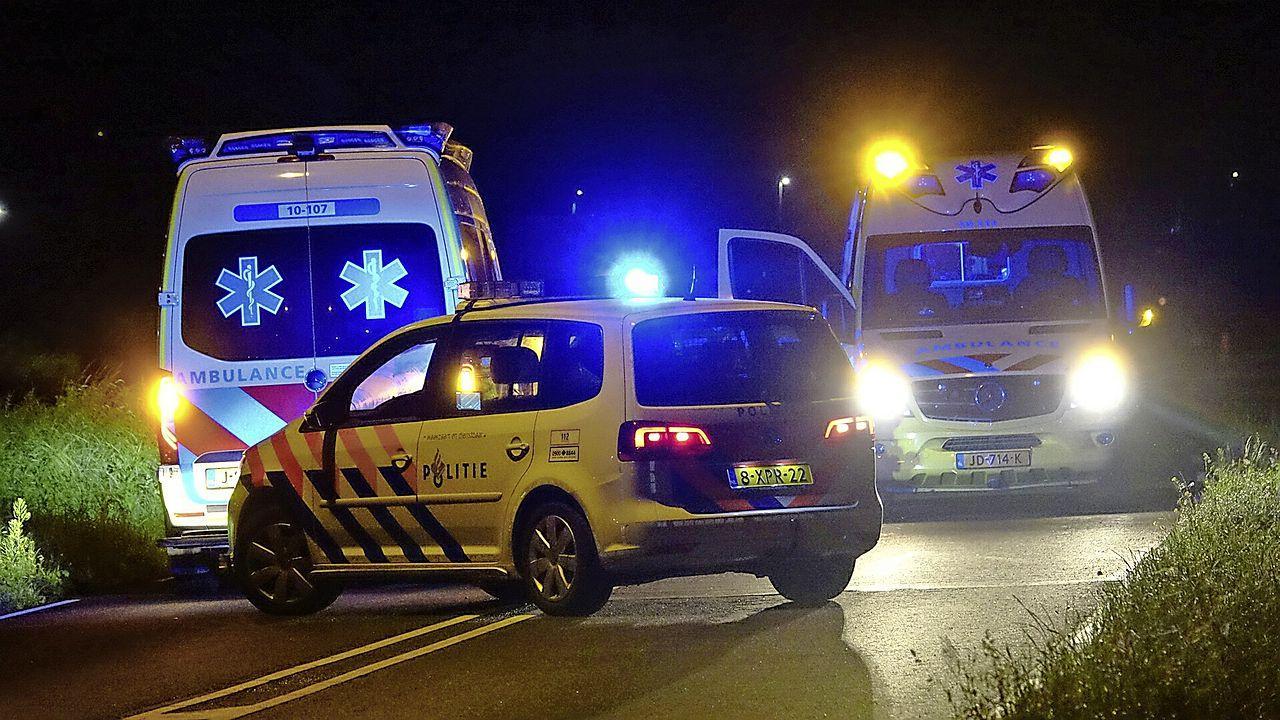 30-jarige man uit Hoorn overleden na aanrijding met auto op N247 bij Oudendijk [video]