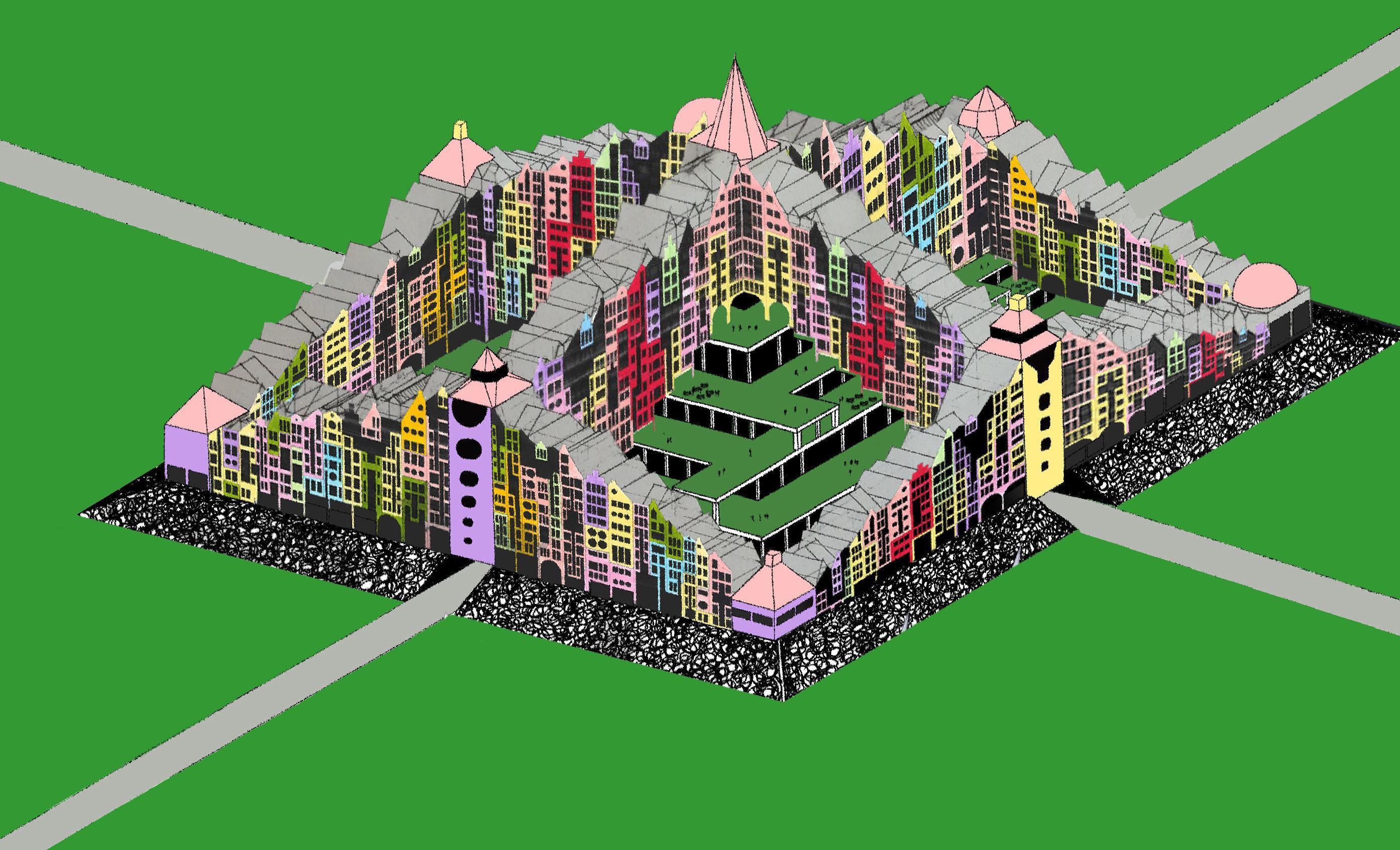 Wisselende reacties op plan voor piramidestad met 1600 woningen in Heerhugowaard. 'Na Stad van de Zon weer onze nek uitsteken'