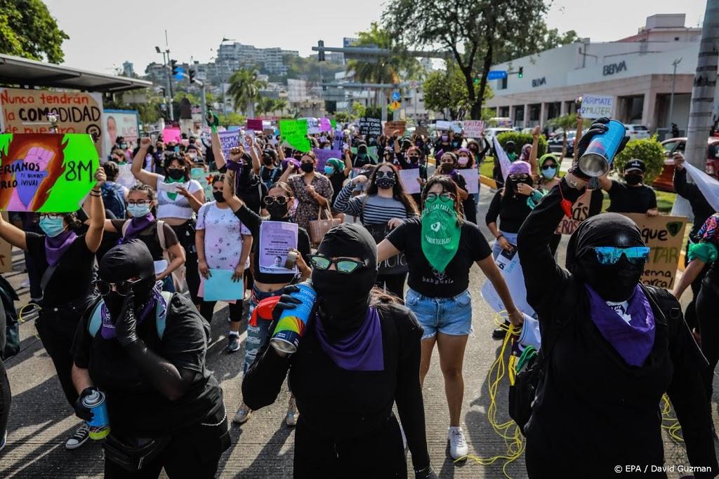 Gewonden bij demonstraties op Internationale Vrouwendag in Mexico