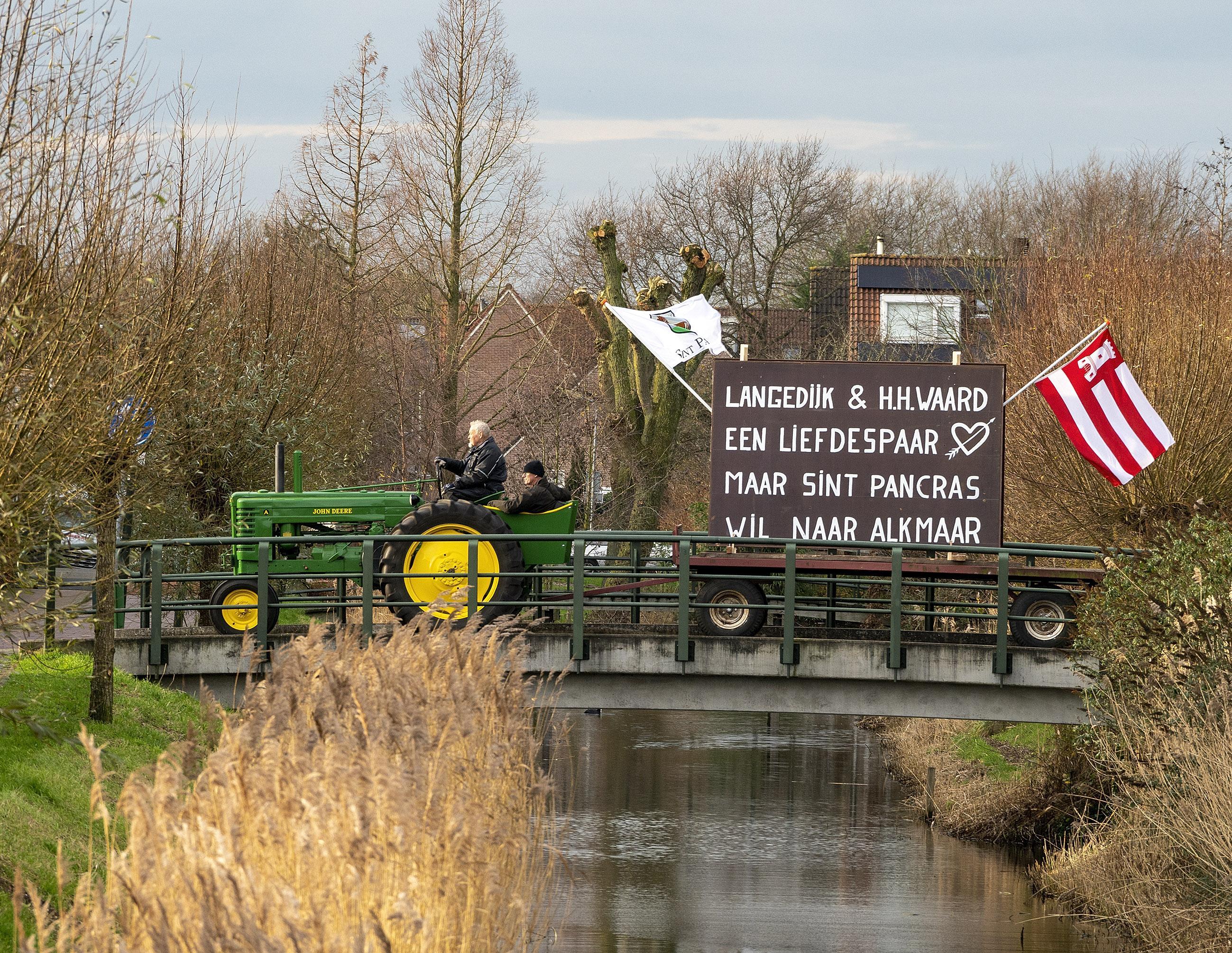 Tweede Kamer houdt de deur op een kier voor Koedijk en Sint Pancras, ook na de fusie van Langedijk en Heerhugowaard