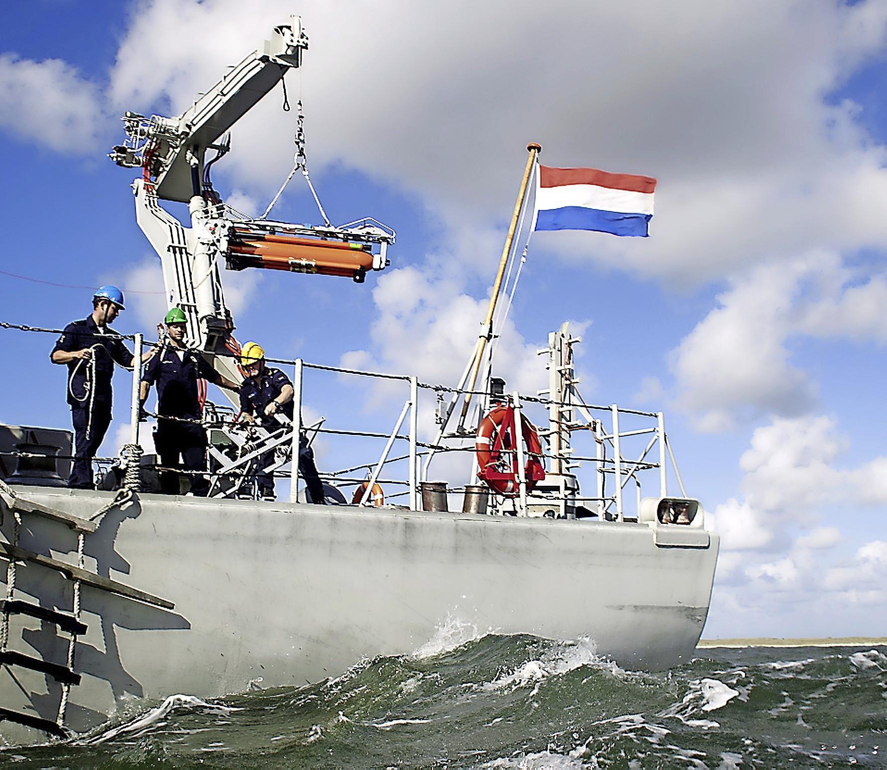 De Marine wil goedkoper onderhoud aan haar schepen. Onderzoeksinstituut Techport in IJmuiden helpt daarbij in een proeffabriek
