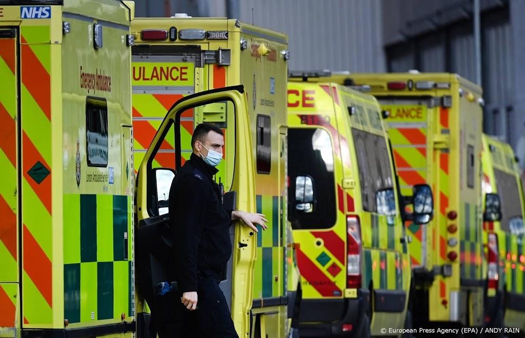 Recordaantal sterfgevallen door Covid in Verenigd Koninkrijk