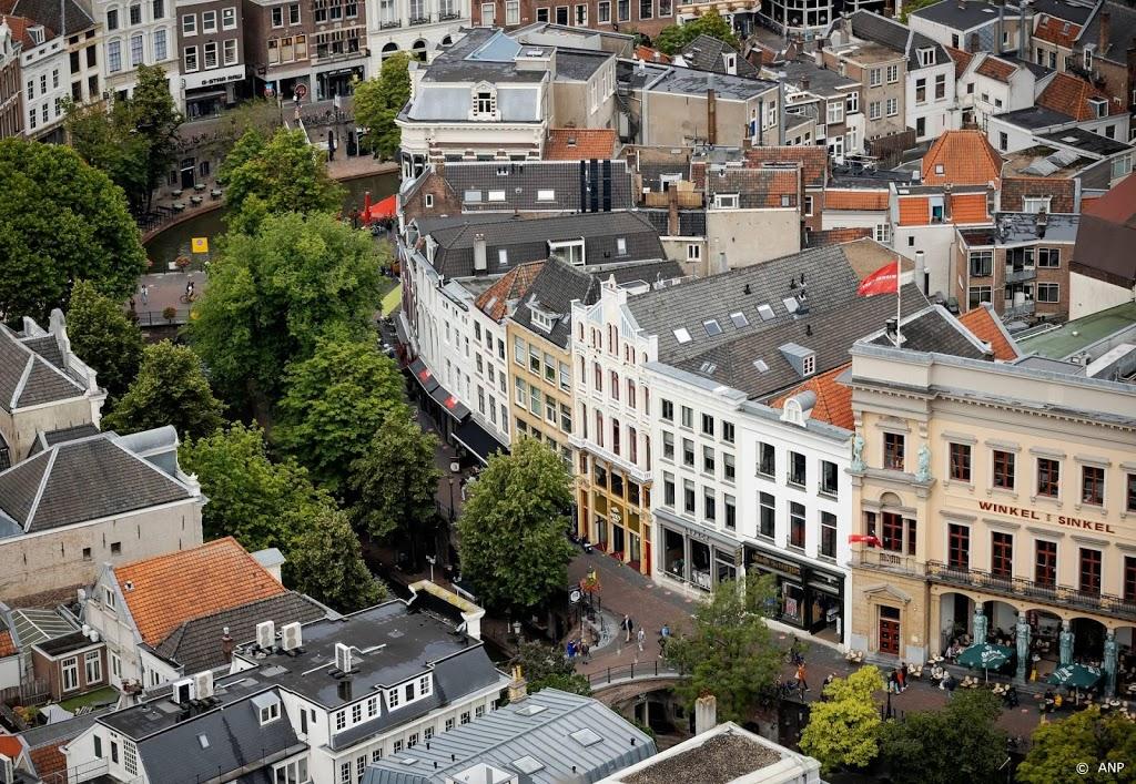 Binnenstad Utrecht weer omsingeld door water