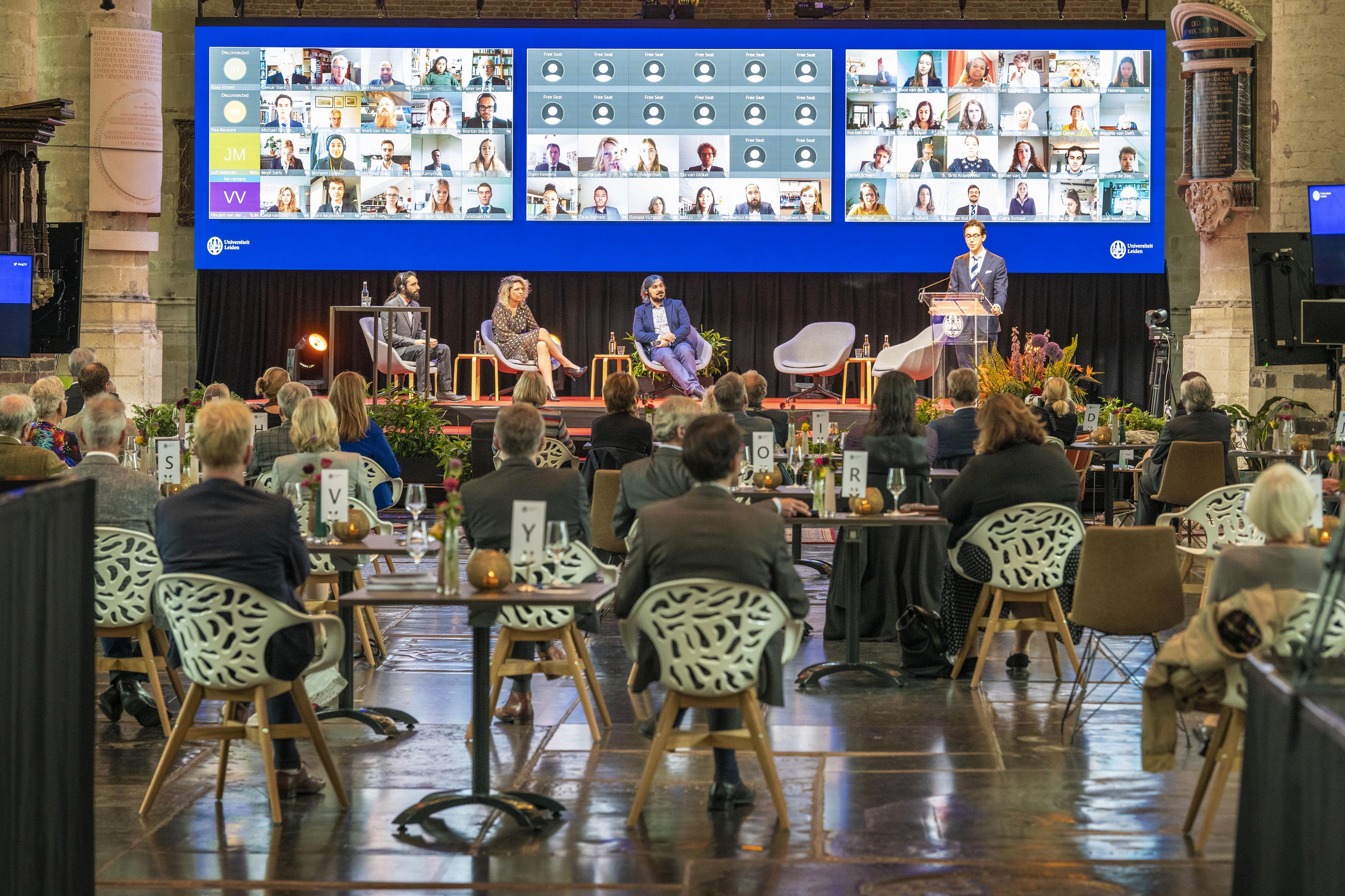 Opening academisch jaar in Leiden: Coronacrisis zet de essentie van de universiteit op het spel