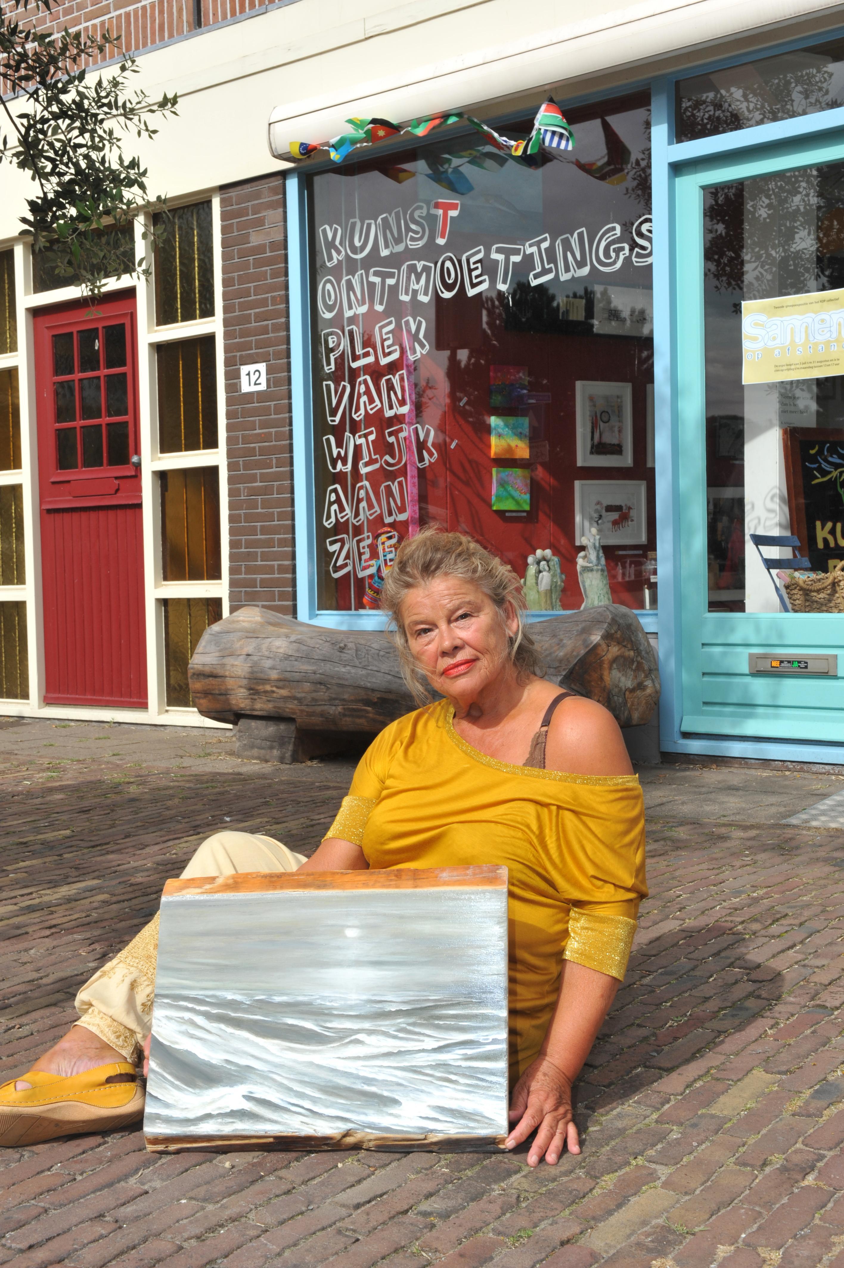 'Zomerstilte' bij dé plek voor kunstontmoeting in Wijk aan Zee. Tekenaar Rien Doorn: 'Mensen op het verkeerde been zetten, dat mag ik ook graag doen'