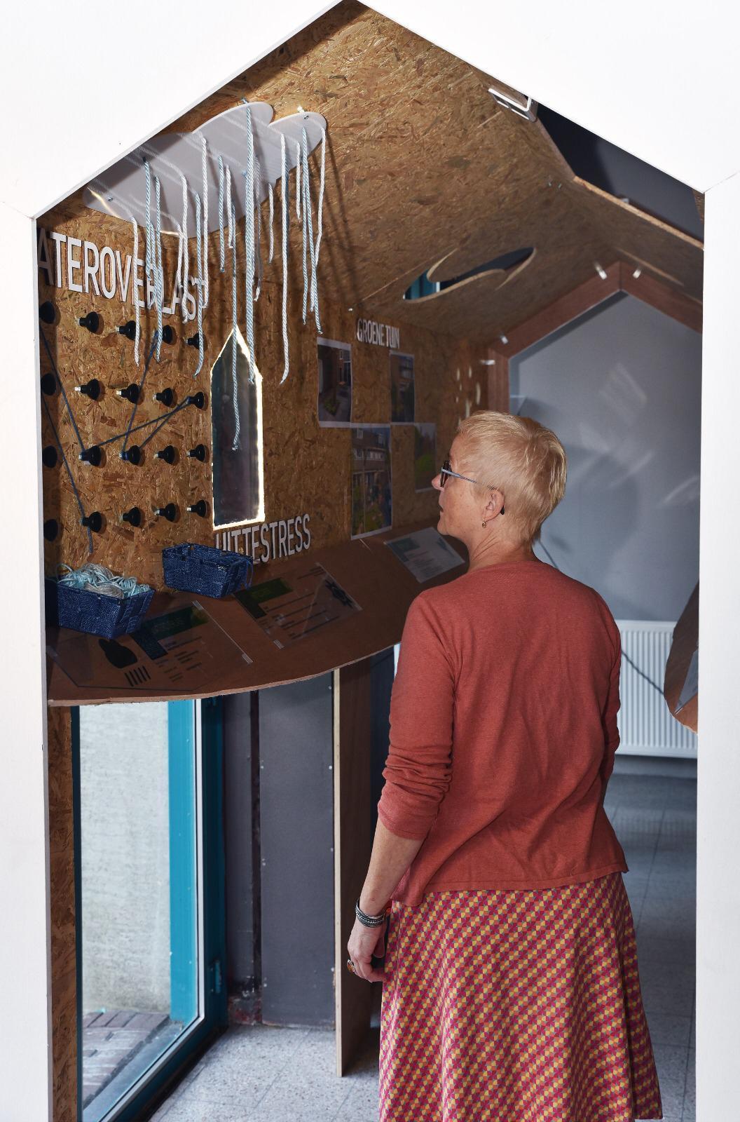 Bewustwording duurzaamheid door interactieve tentoonstelling in Wijklab Kersenboogerd