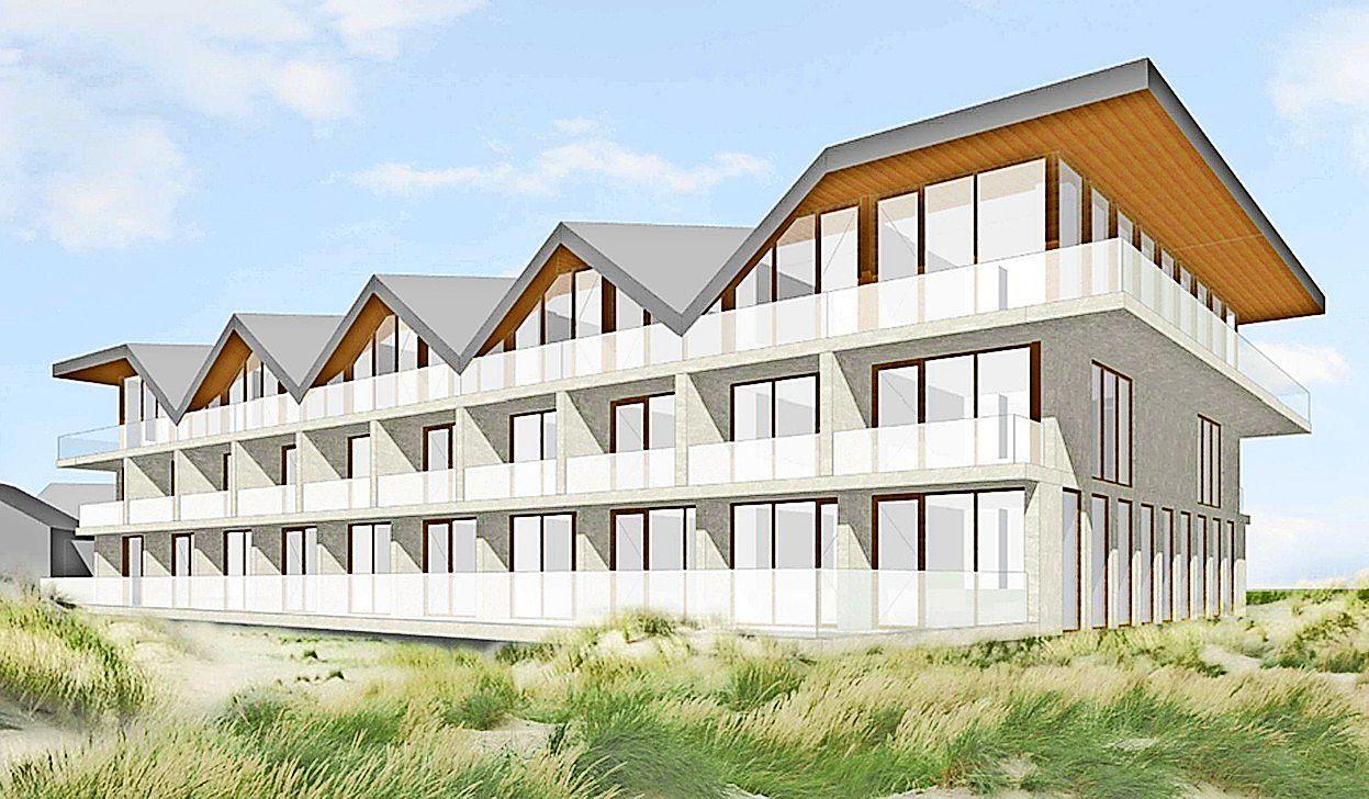 Ongezouten kritiek op hotel aan de Kop van de Zeeweg: 'Een klomp in de duinen'