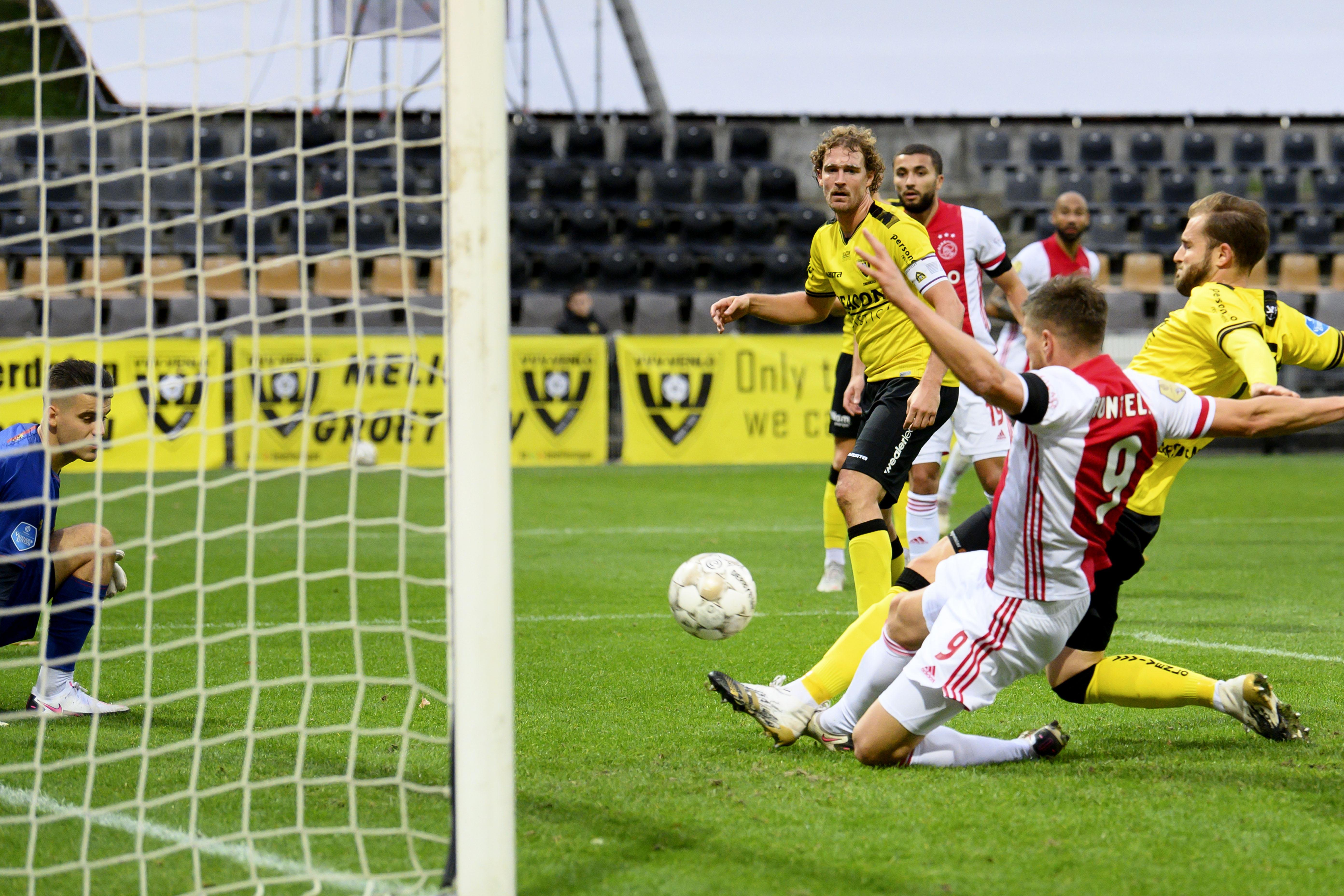 Ajax viert grootste score ooit in eredivisie: dertien doelpunten tegen VVV-Venlo [video]