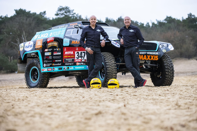 Tim dwingt Tom er toe dat hij de helft van het parcours van Dakar 2021 voor zijn rekening neemt