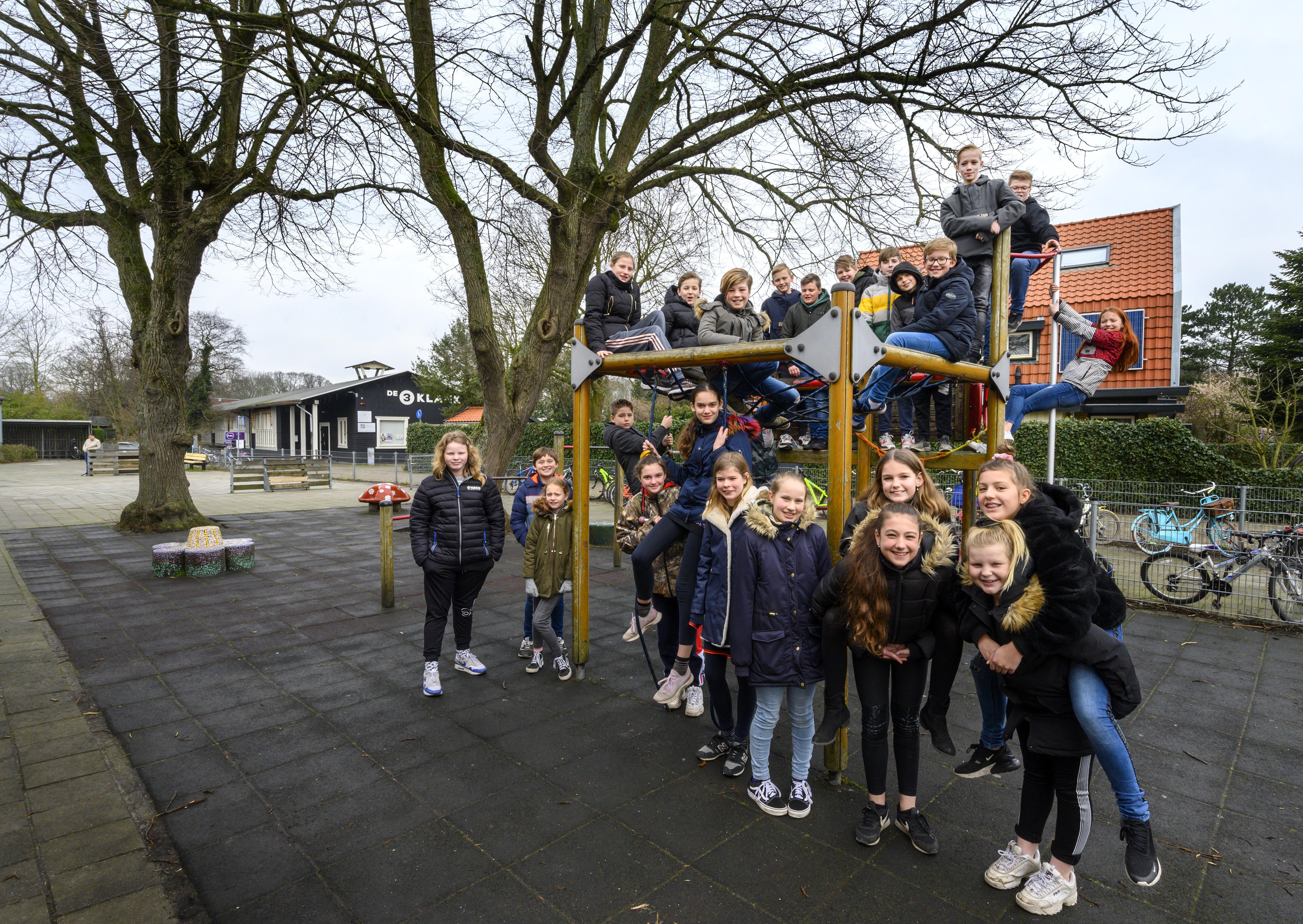School schrijft motie voor Velsense gemeenteraad: Schoolpleinen in de gemeente gaan groener worden