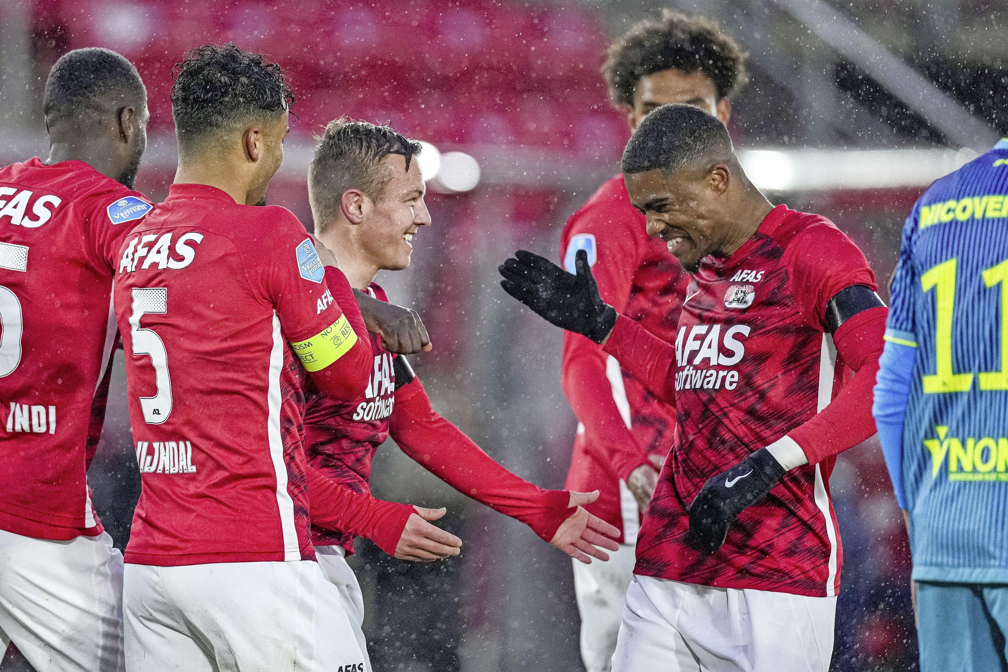 Dit keer géén historisch tumult bij AZ tegen Sparta, maar een heerlijk saai avondje voor de ploeg van Pascal Jansen