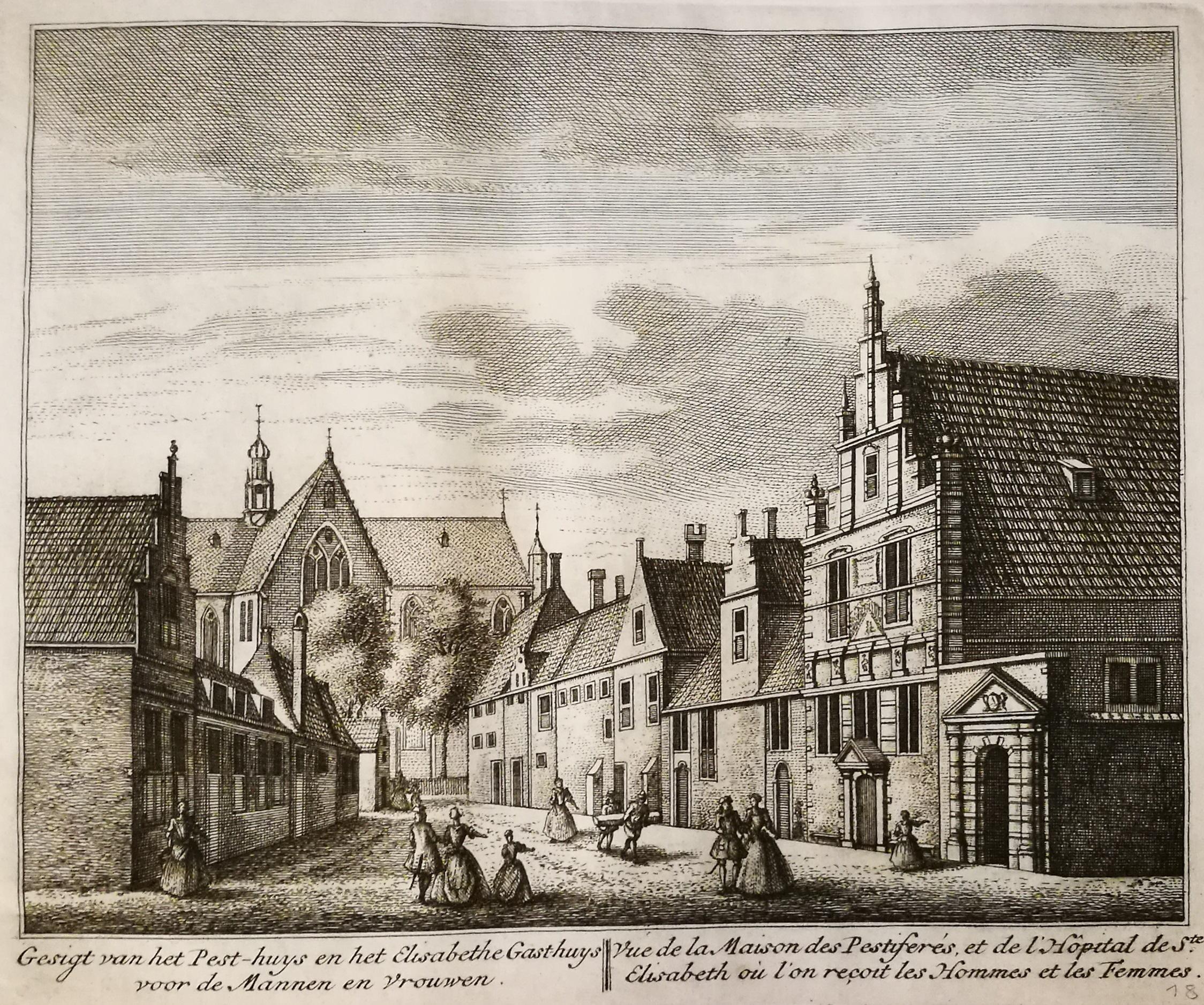 Hoe waarheidsgetrouw waren de prenten, tekeningen en schilderijen van Abraham Rademaker. Zij werk vond gretig aftrek, maar de omgeving veranderde soms, of de kerk was ineens een heel andere