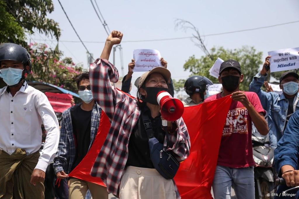 Dodental na protesten in Myanmar stijgt tot boven de 800