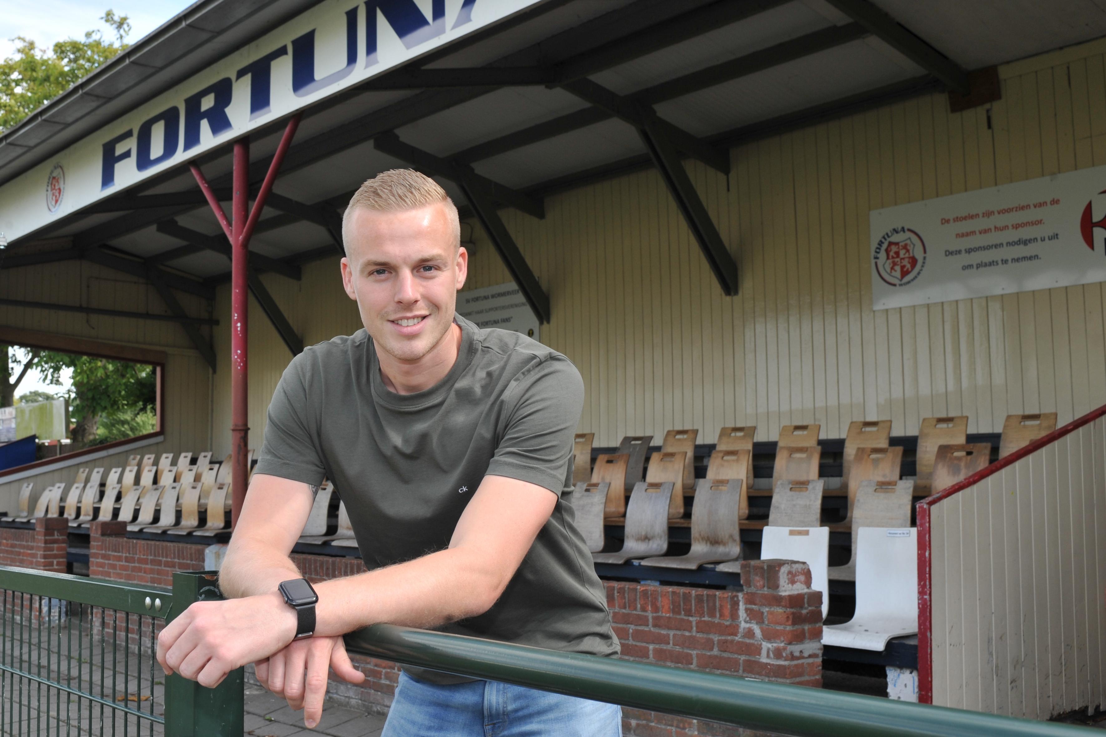 Spits Jordi Wigman na avonturen ADO'20 en Purmersteijn terug in de Zaanstreek bij Fortuna Wormerveer: 'Nooit aan mezelf getwijfeld'