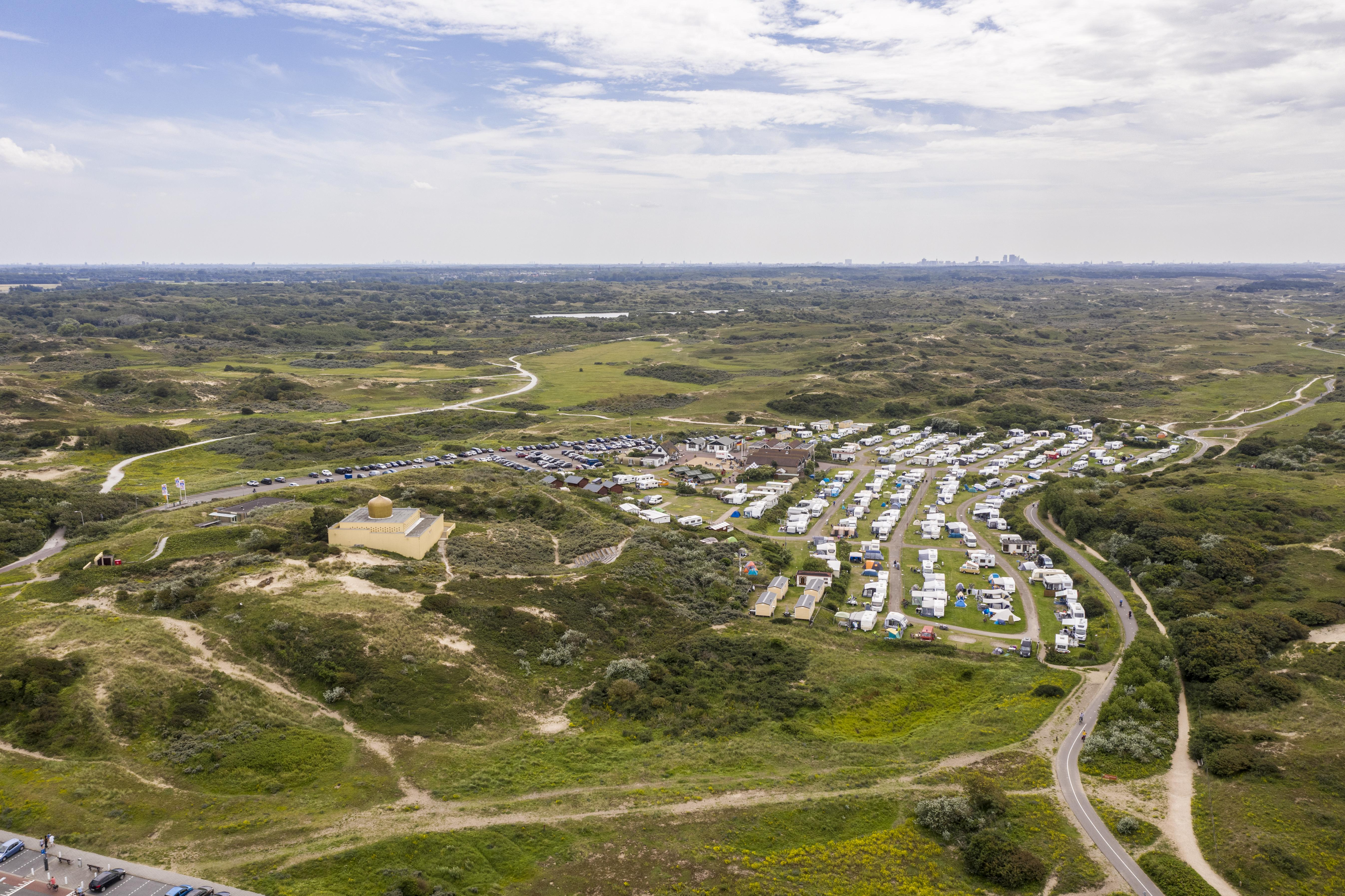 Een prachtig Katwijks duinlandschap vol vervulde wensen   luchtfoto