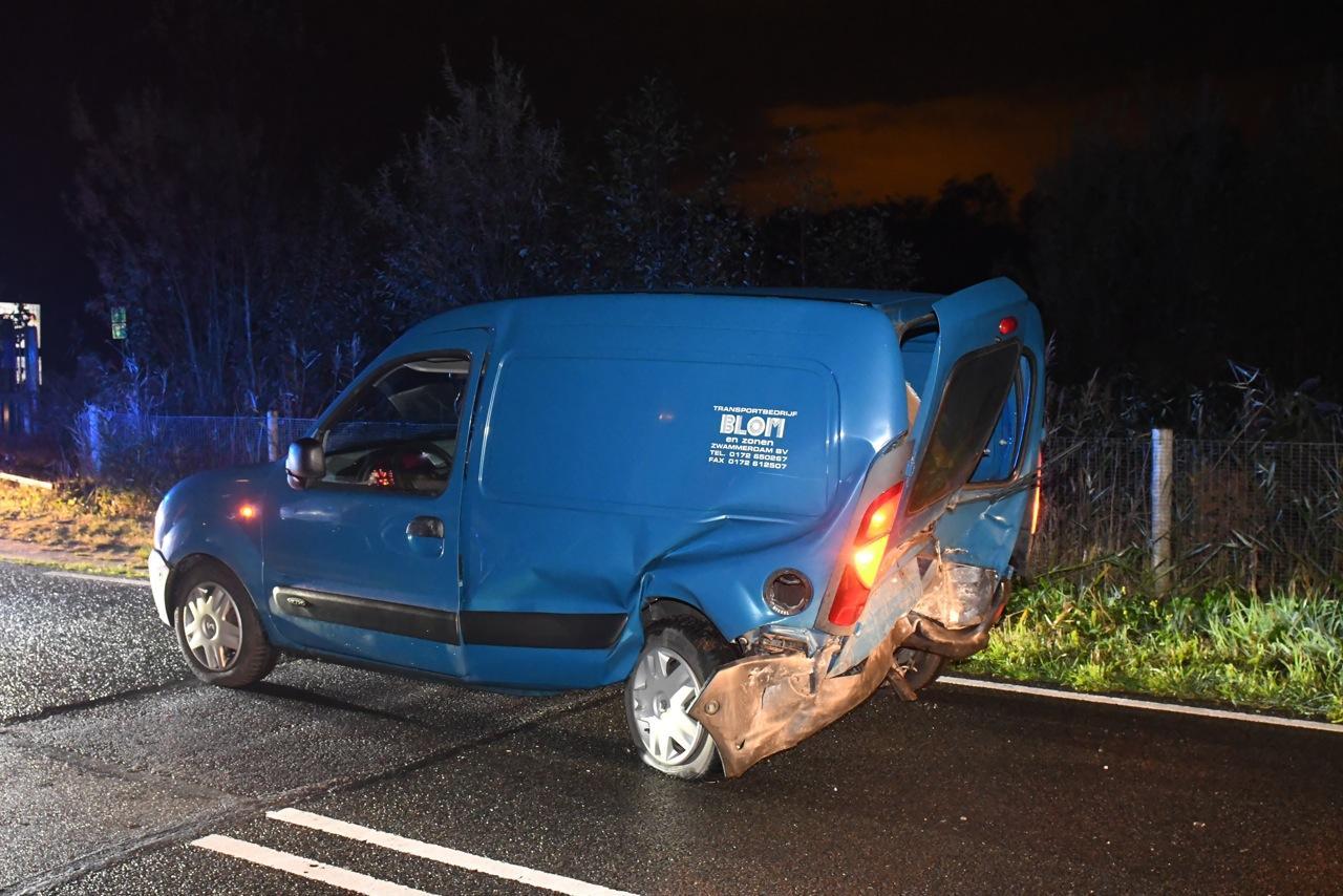 Twee gewonden bij ongeval Woerdense Verlaat, bestuurder opgepakt