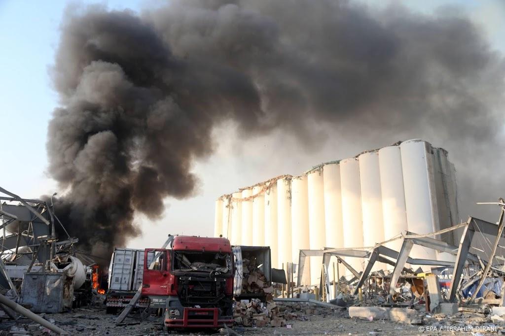 Buitenlandse hulpverleners naar Libanon na zware explosie