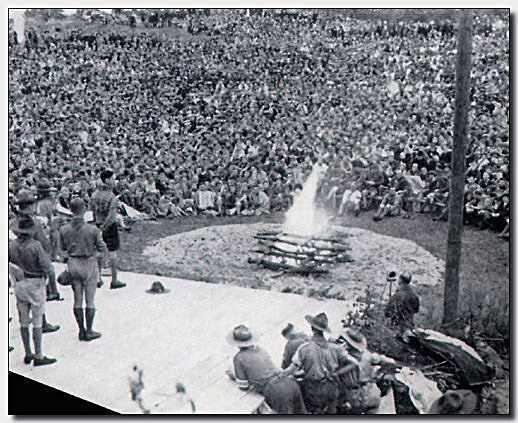 Uit de Tijd: Tienduizenden scouts samen in Vogelenzang