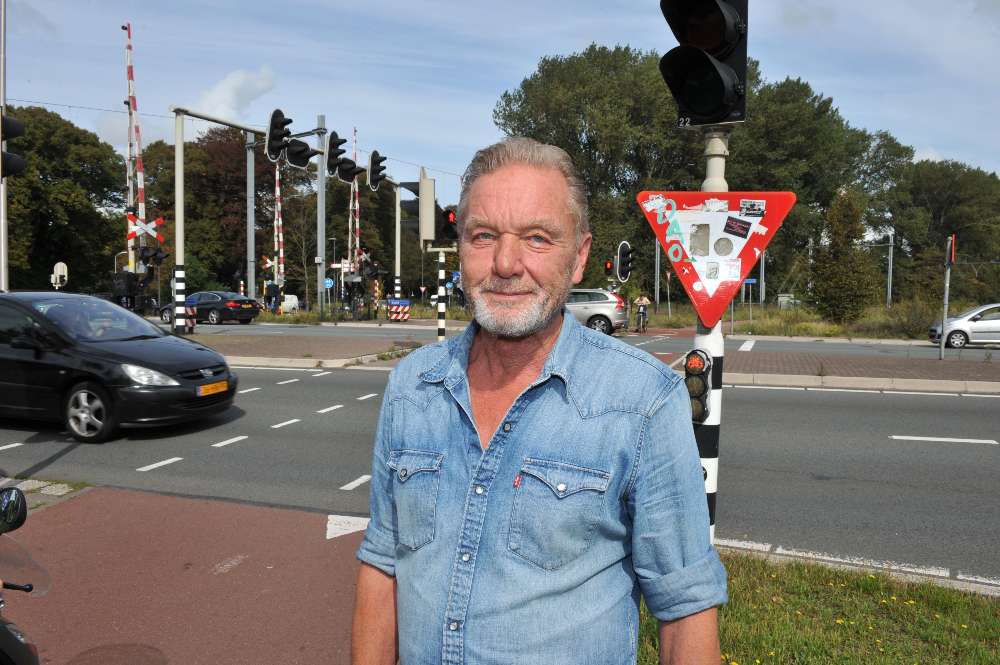 Peter Stam, kandidaat voor titel IJmonder van het Jaar 2019. 'Mister Velsen-Noord' is een doorzetter