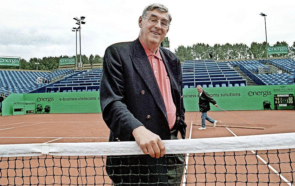 Van Laver, Nastase en Vilas tot Muster, Rios en Djokovic:'iconische' Piet van Eijsden (1936-2021) lokte de internationale tennistop naar 't Melkhuisje