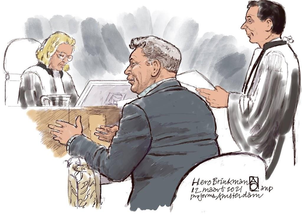 Strafzaak tegen oud-PVV'er Hero Brinkman hervat
